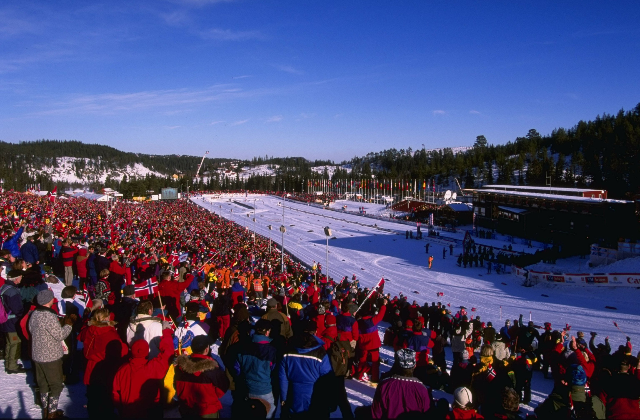 Trondheim also hosted the FIS Nordic World Ski Championships in 1997, with the event set to return in 2025 ©Getty Images