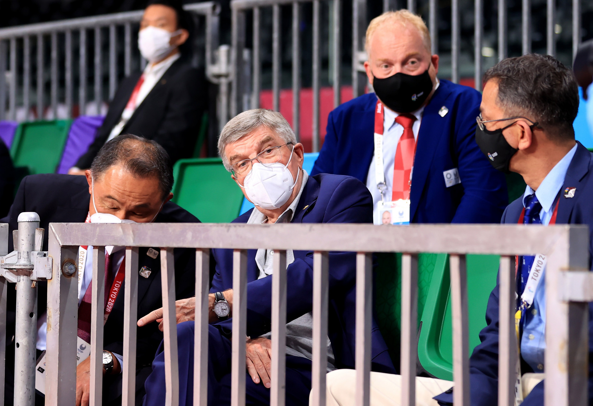 IOC President Thomas Bach attended last night's Opening Ceremony of the Paralympics before visiting a number of Tokyo 2020 venues ©Getty Images