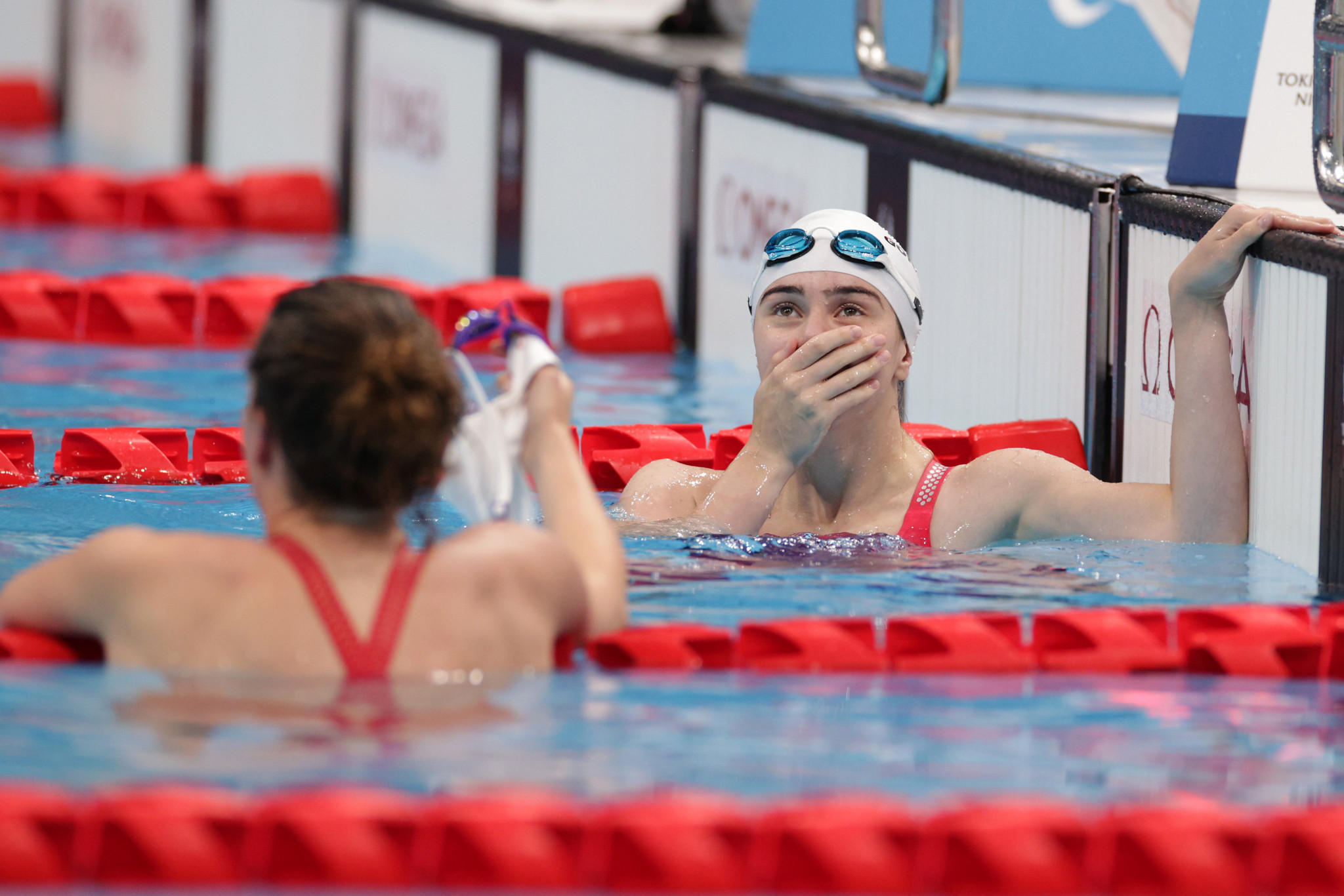Anastasiia Gontar's time of 27.38 seconds was just 0.01  short of Aurelie Rivard's world record in the women's S10 50m freestyle set at Rio 2016 ©Getty Images