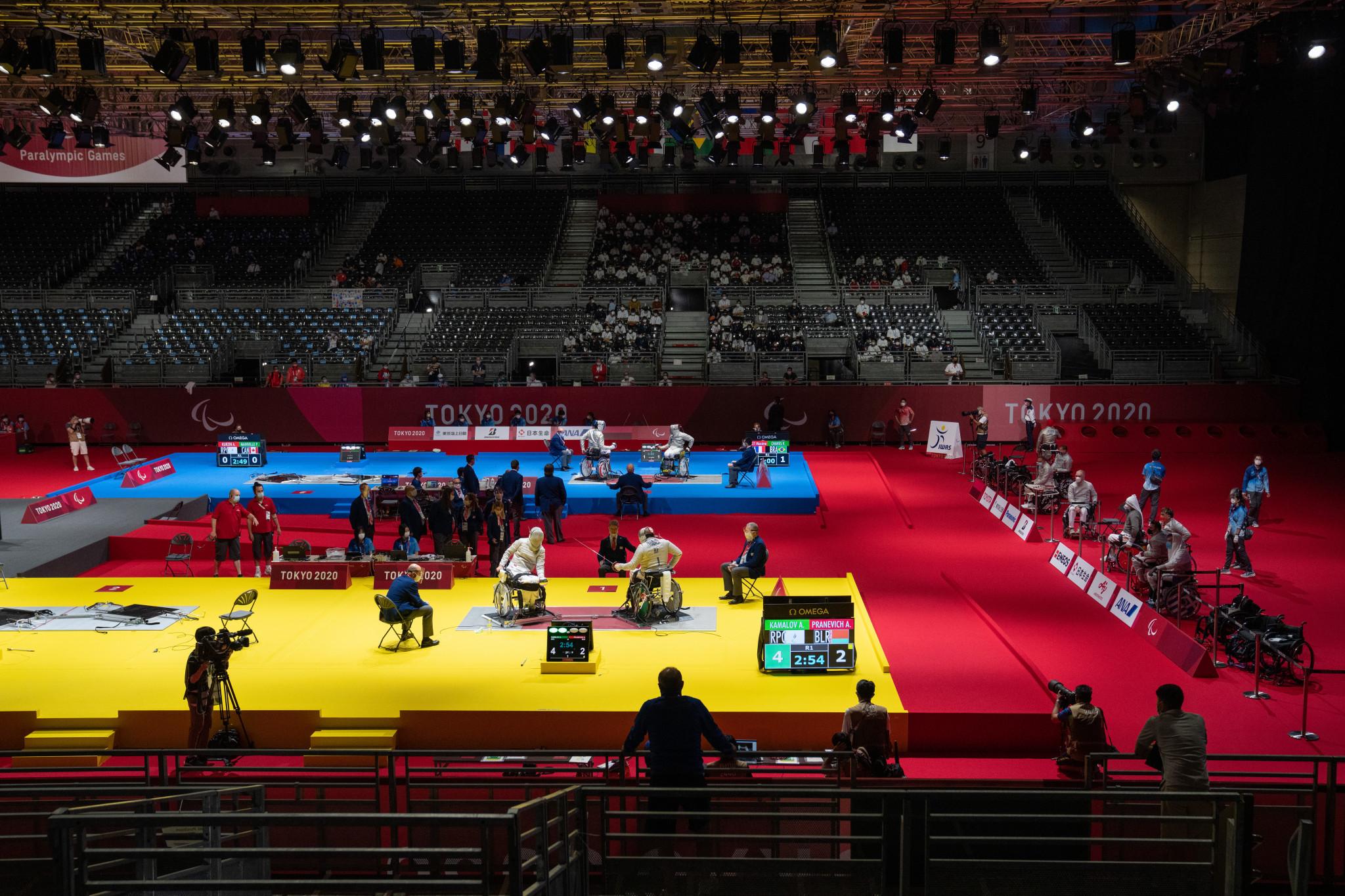 China sweep sabre titles as wheelchair fencing action begins at Tokyo 2020 Paralympics