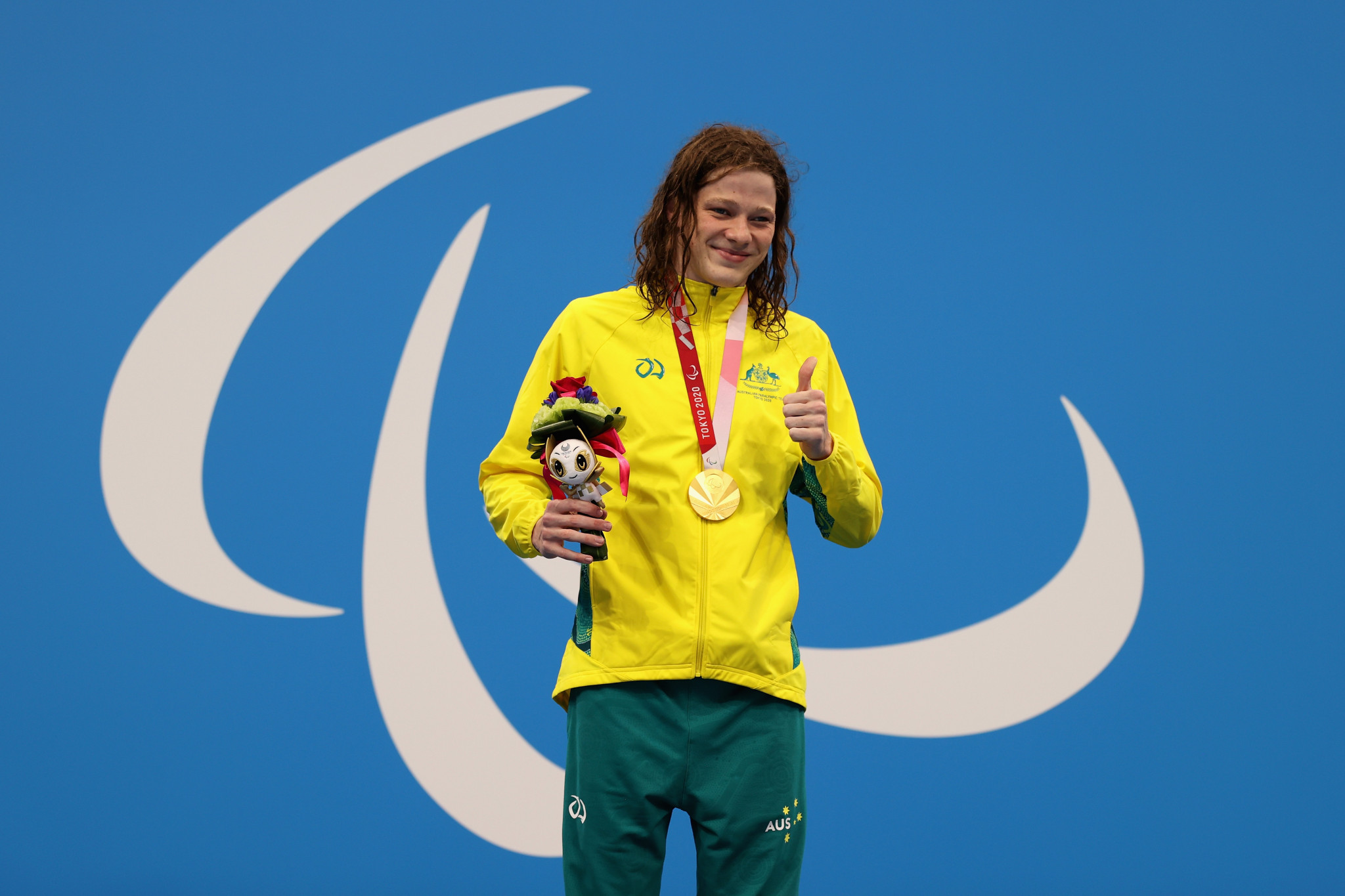 Australian swimmers propel nation to top of Tokyo 2020 Paralympics medal table