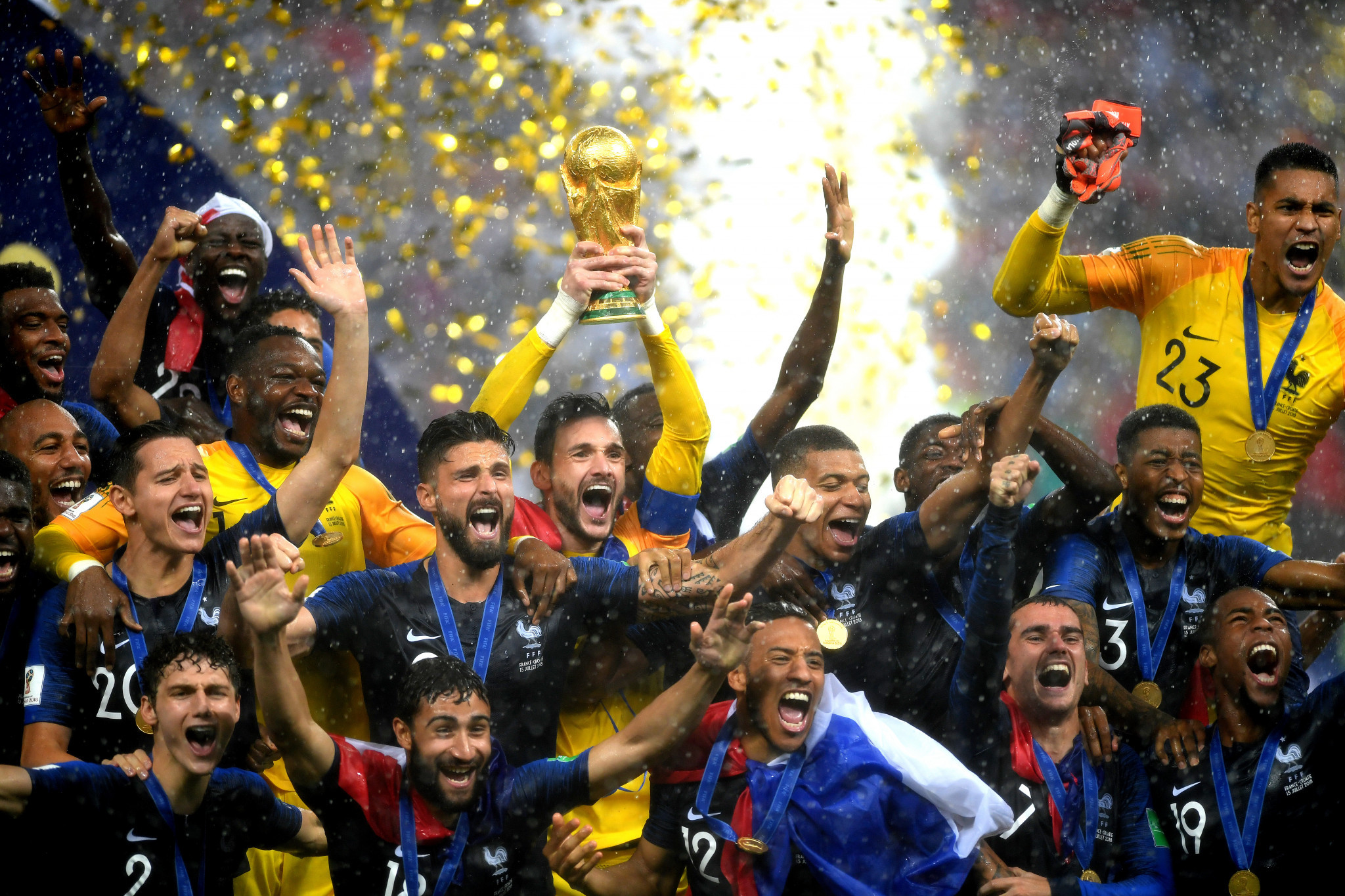 The 2018 FIFA World Cup was a success and set the scene for future sporting events in Russia ©Getty Images
