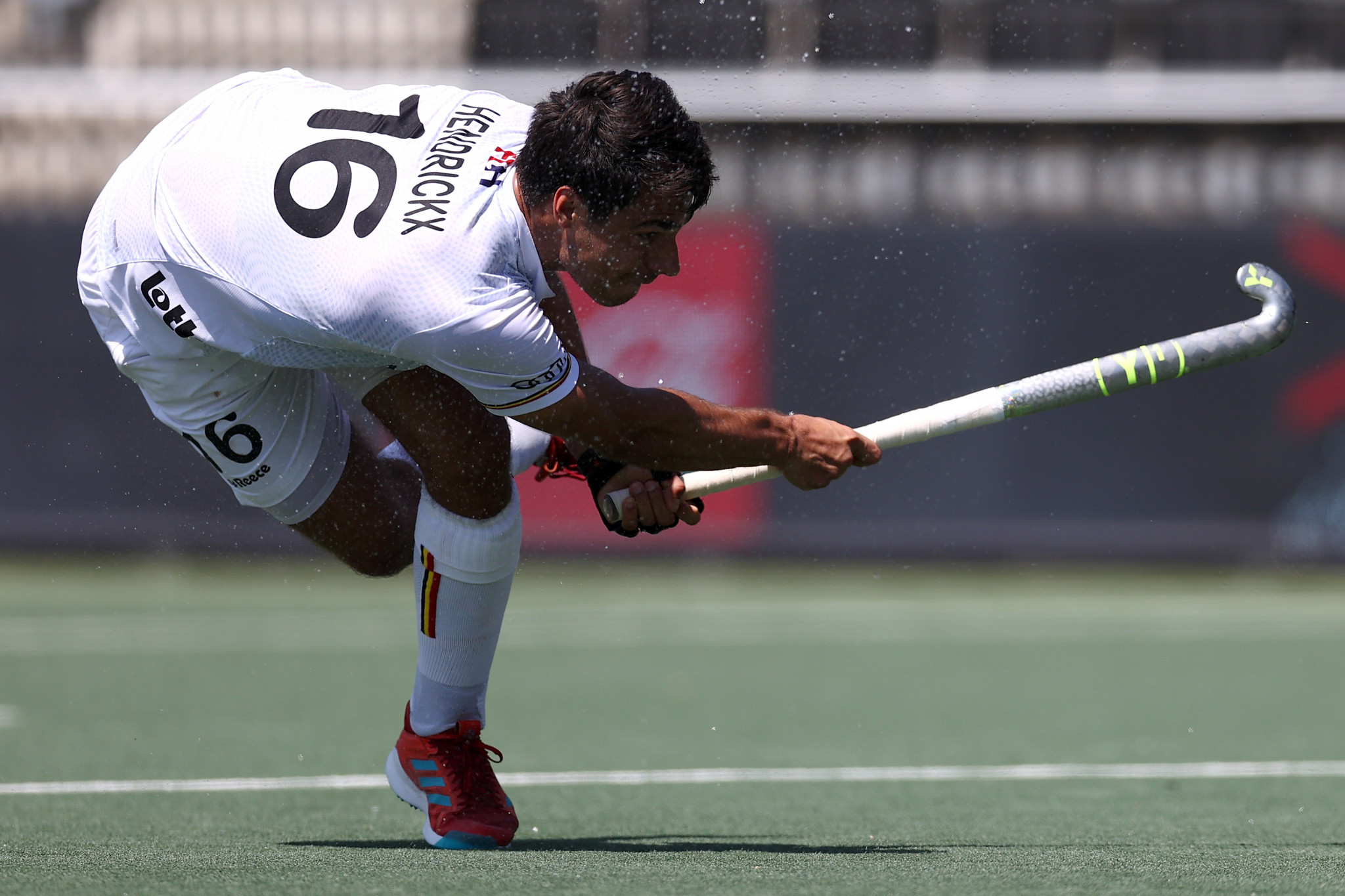 Alexander Hendrickx was the top scorer in the 2020-2021 Men's FIH Pro League with 11 goals ©Getty Images