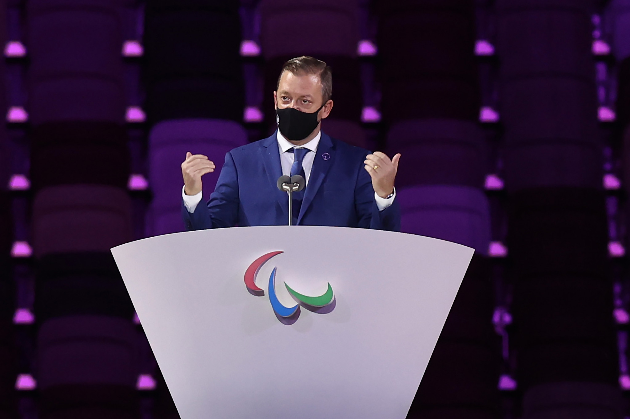 Andrew Parsons is to stand for a second term as IPC President unopposed ©Getty Images