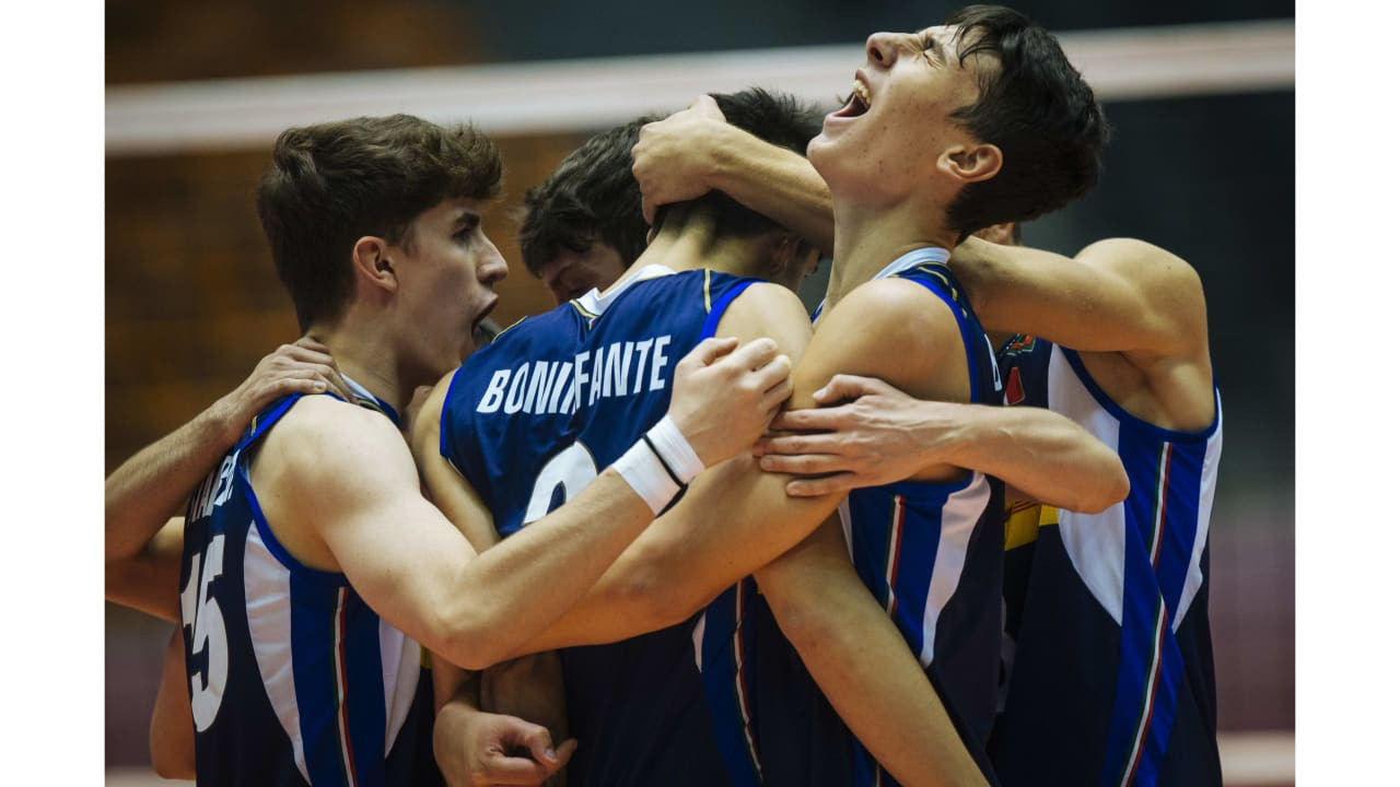 Italy, Russia and Argentina remain unbeaten after second day of FIVB Boys Under-19 World Championship