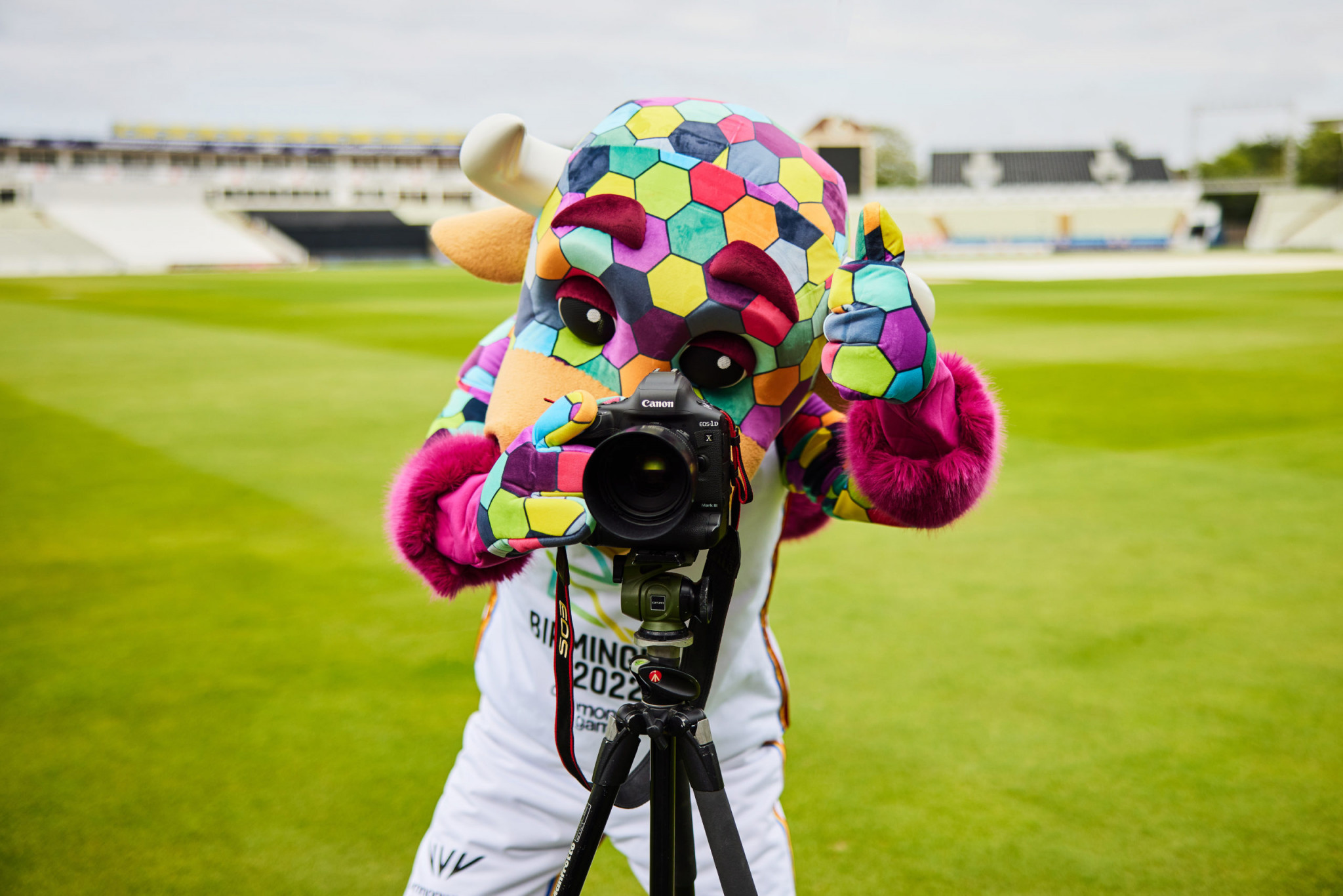 Canon is the official image supporter of the Birmingham 2022 Commonwealth Games ©Birmingham 2022