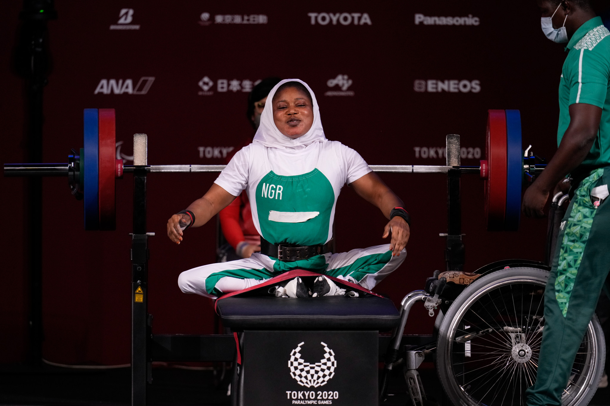 Nigeria claims first gold at Tokyo 2020 Paralympics as Guo breaks powerlifting world record
