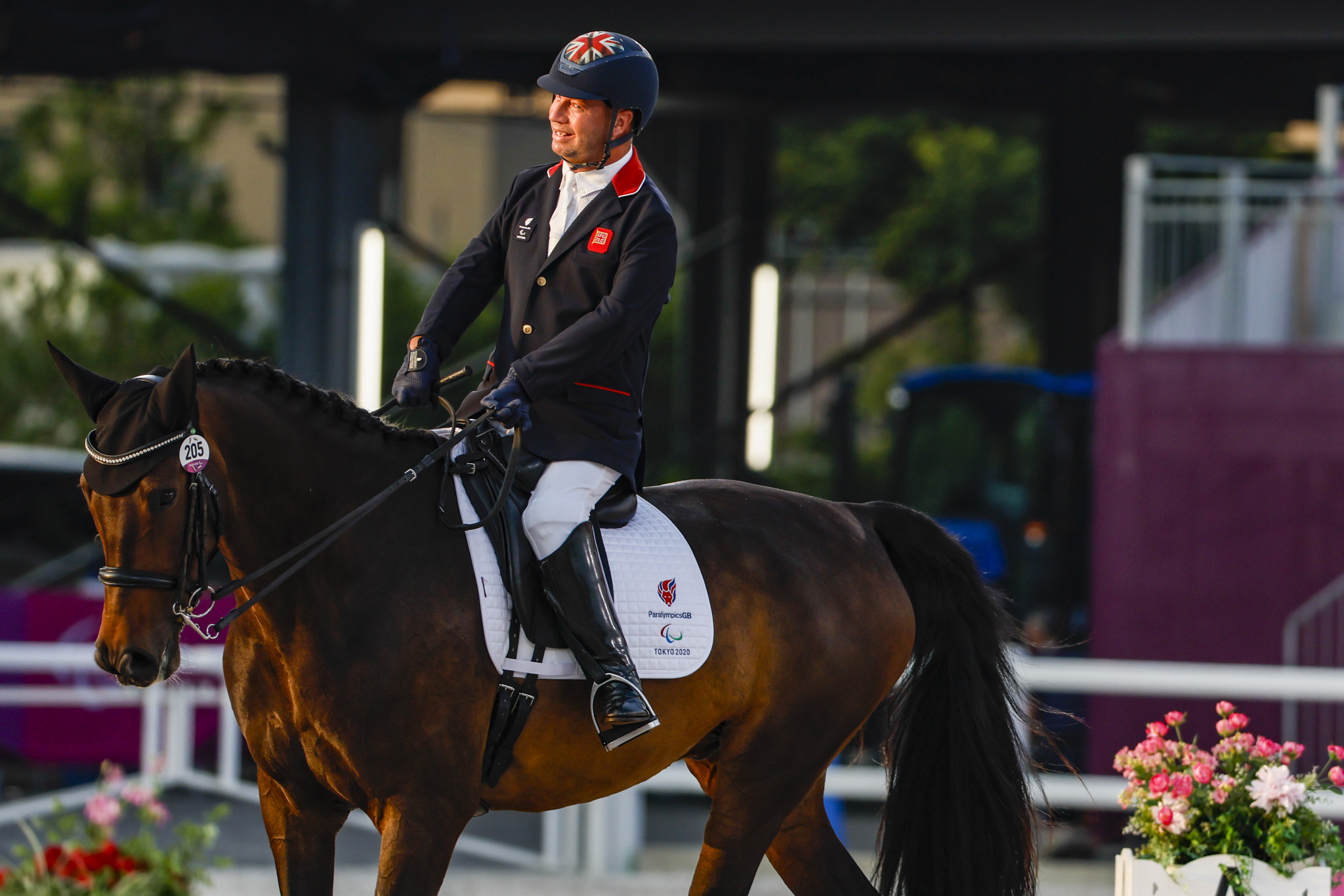 Pearson wins 12th Paralympic gold on opening day of Tokyo 2020 equestrian