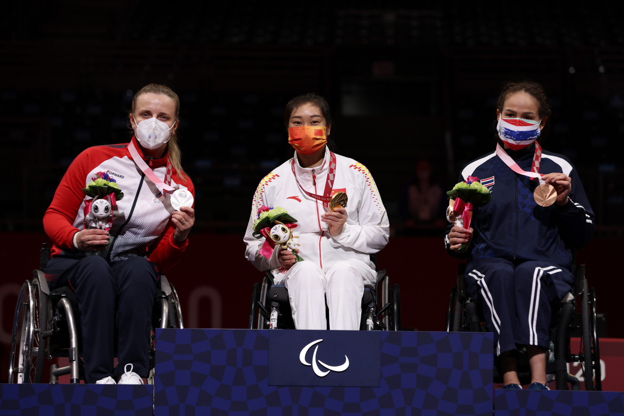 Tan adds epee wheelchair fencing title to sabre gold at Tokyo 2020 Paralympics