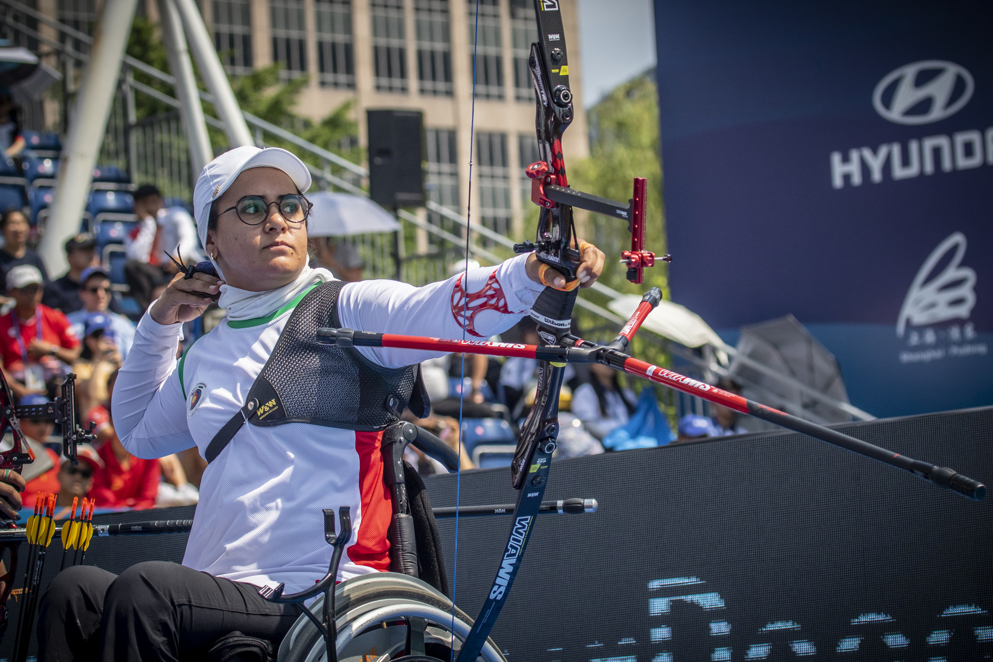 Zahra Nemati of Iran is targeting a third straight gold medal at the Tokyo 2020 Paralympic Games ©Getty Images