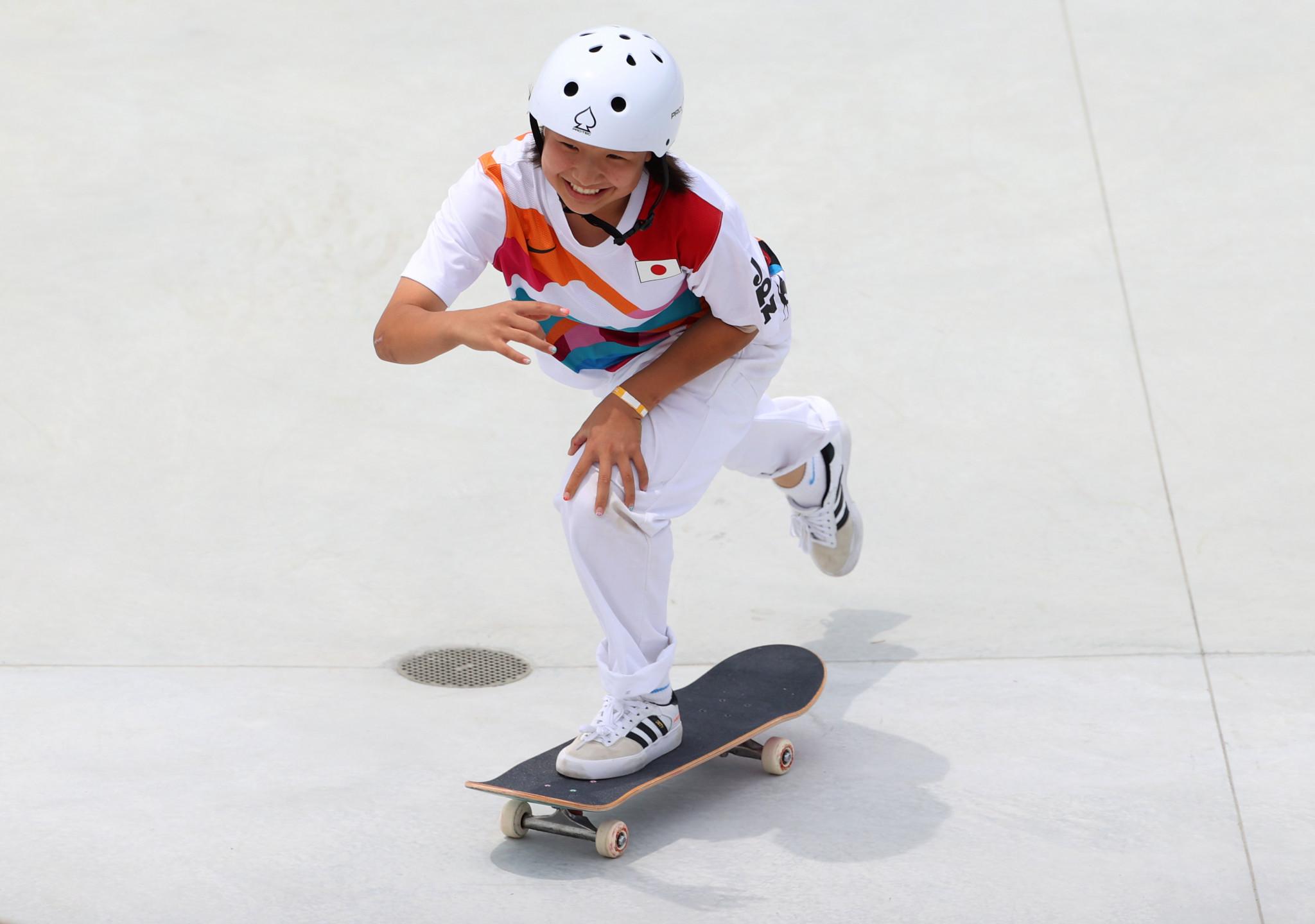 Olympic champion Nishiya among stars at SLS leg in Salt Lake City