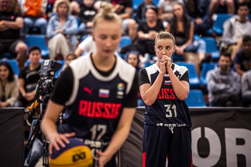 Russia stun US to reach women's quarter-finals at FIBA 3x3 Under-18 World Cup