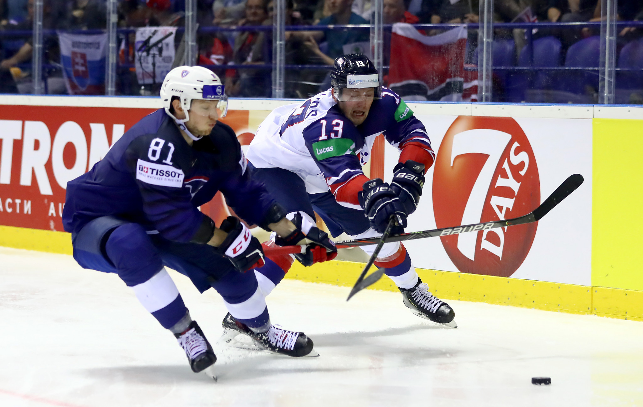 Latvia and France win high-scoring affairs on opening day of final Beijing 2022 ice hockey qualifying tournaments