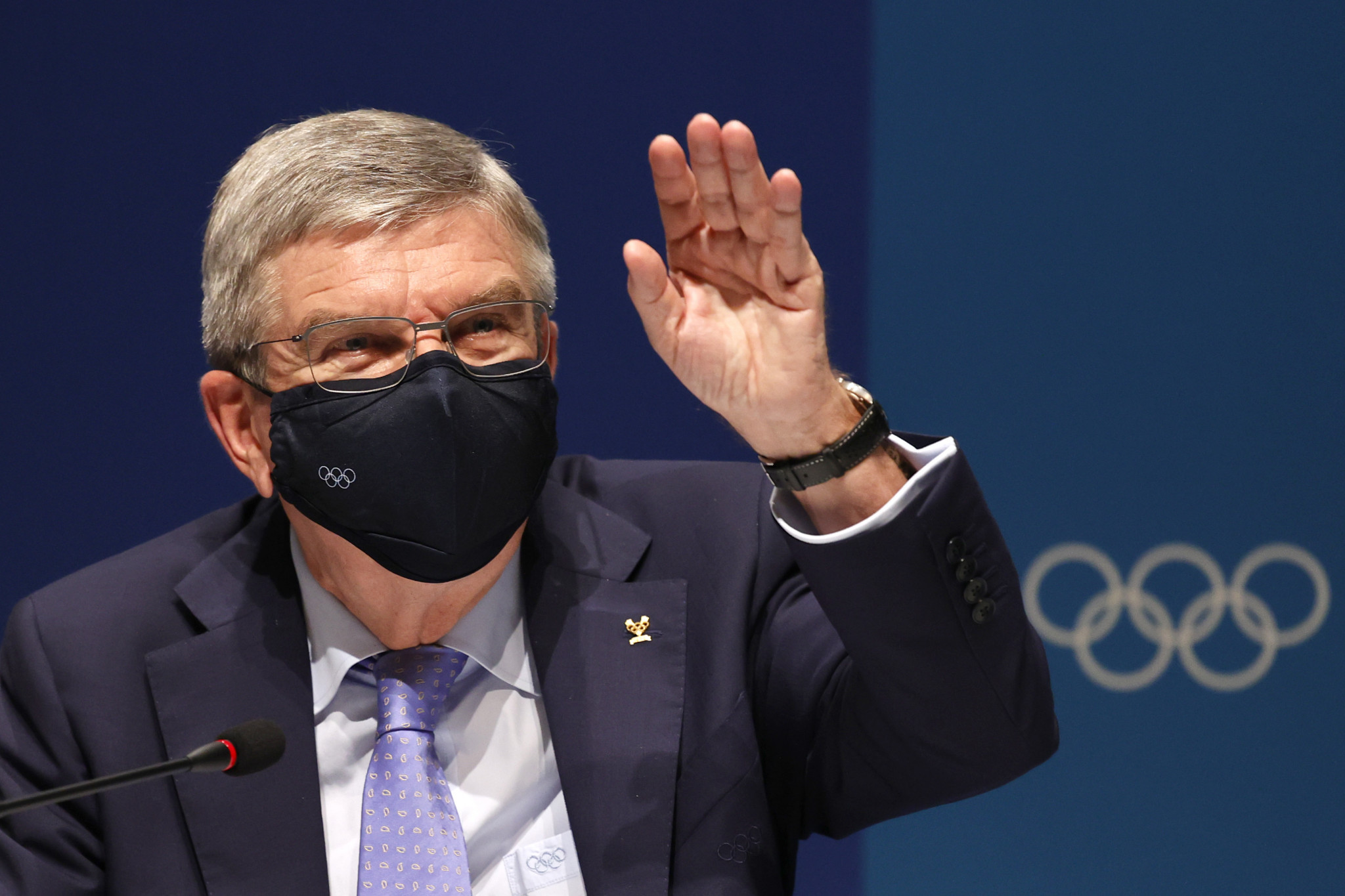 IOC President Thomas Bach has reportedly said there is