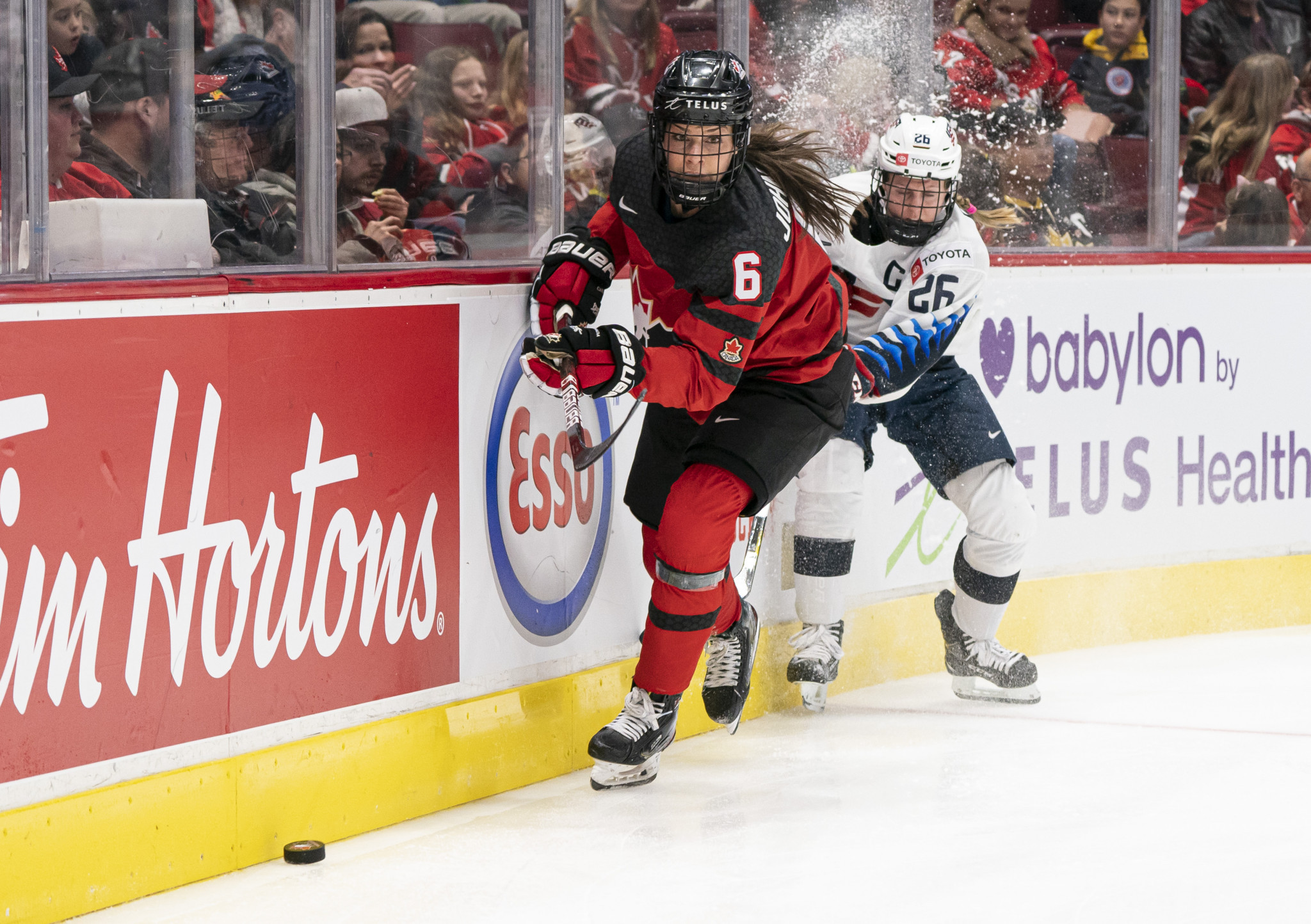 Canada inflict first IIHF Women's World Championship defeat on US since 2013 as preliminary round draws to a close