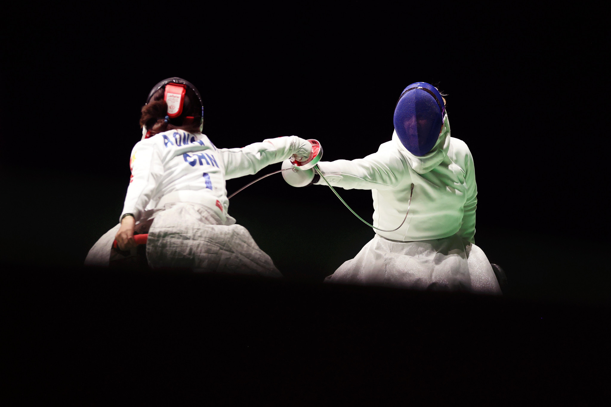China win women's wheelchair fencing team épée title at Tokyo 2020 Paralympics