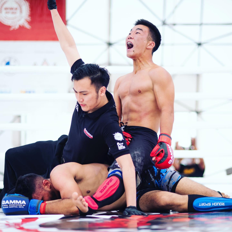 Kazakhstan dominate before finals day at GAMMA MMA Asian Championships