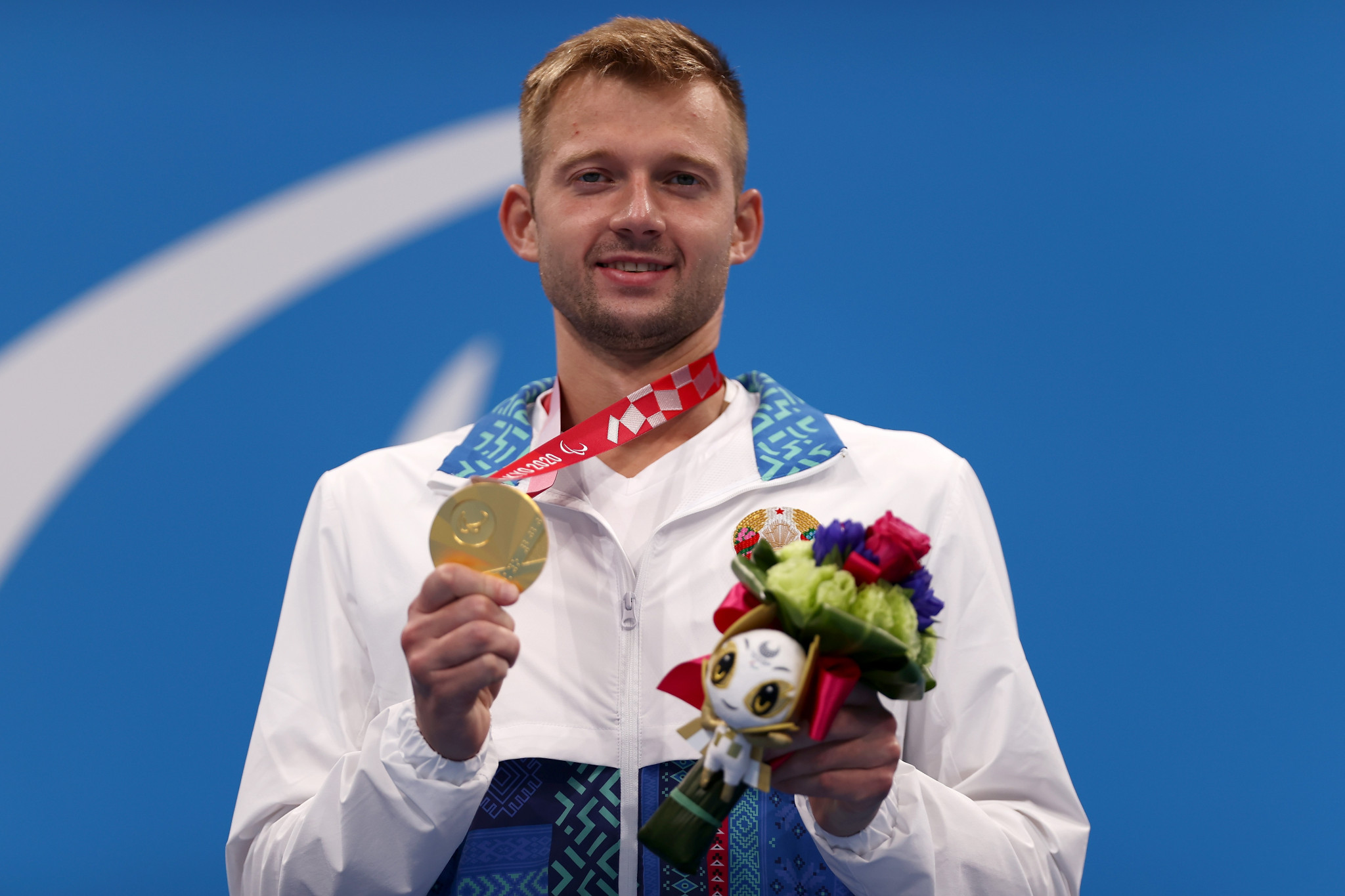 Ihar Boki collected the 14th Paralympic gold medal of his career and third at Tokyo 2020 ©Getty Images