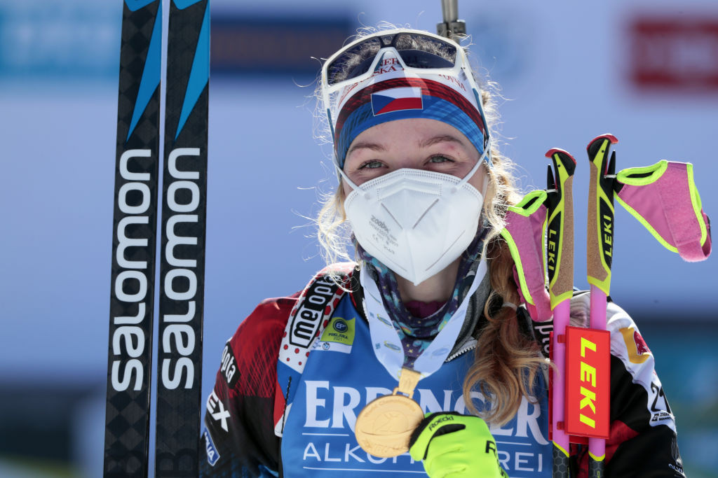 Davidova adds Summer Biathlon World Championships gold to collection with super sprint success