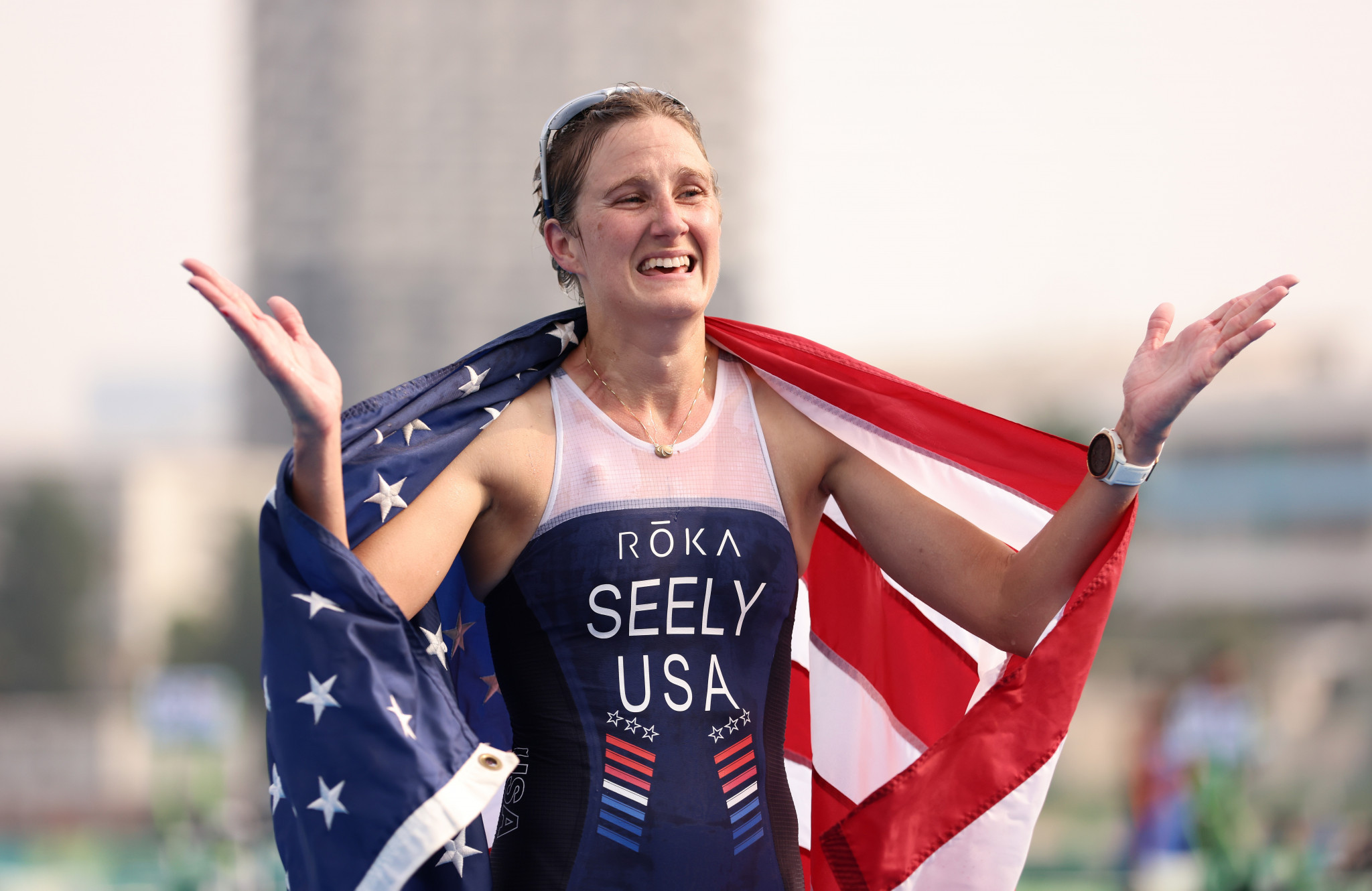 Seely retains Paralympic title as US capture two triathlon golds