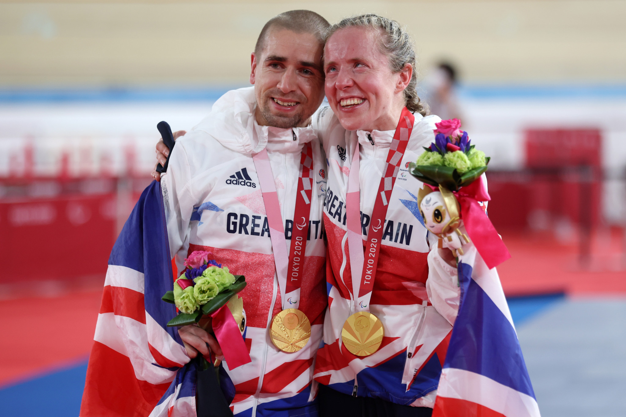 Britain claim three golds as track cycling concludes at Tokyo 2020 Paralympics