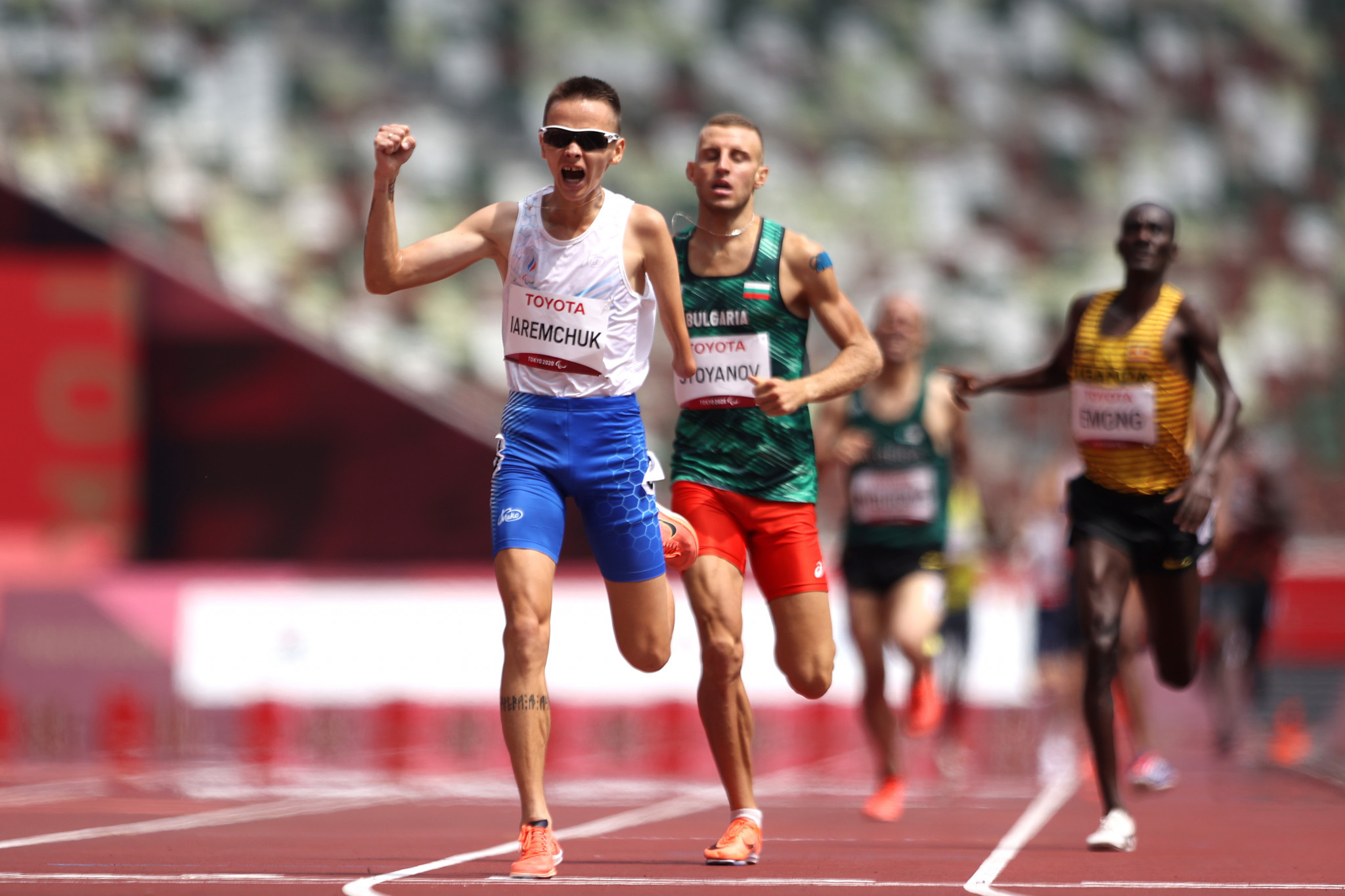Aleksandr Iaremchuk saw off the challenge from Hristiyan Stoyanov to clinch the gold medal ©Getty Images
