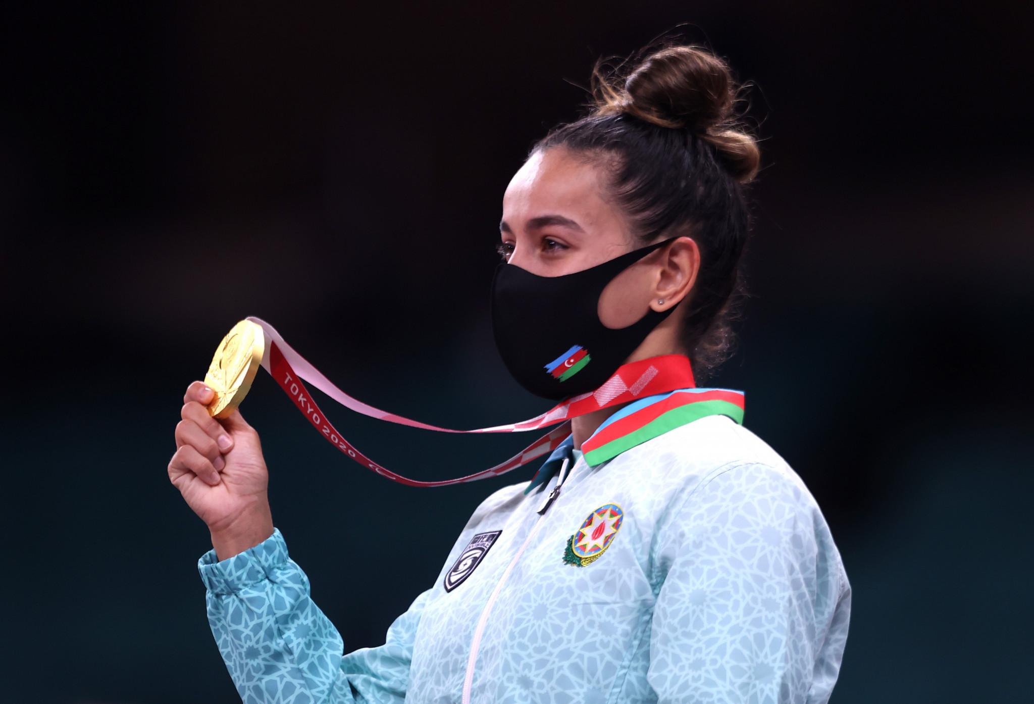 Azerbaijan win three golds on second day of judo at Tokyo 2020 Paralympics