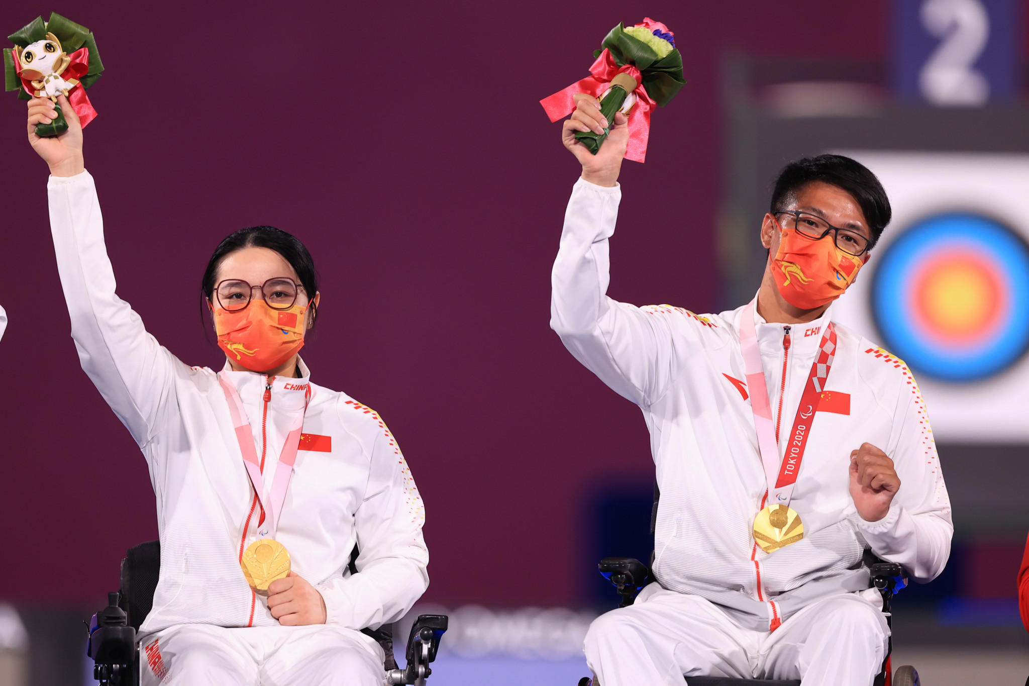 China win first archery gold of Tokyo 2020 Paralympics in W1 mixed team event