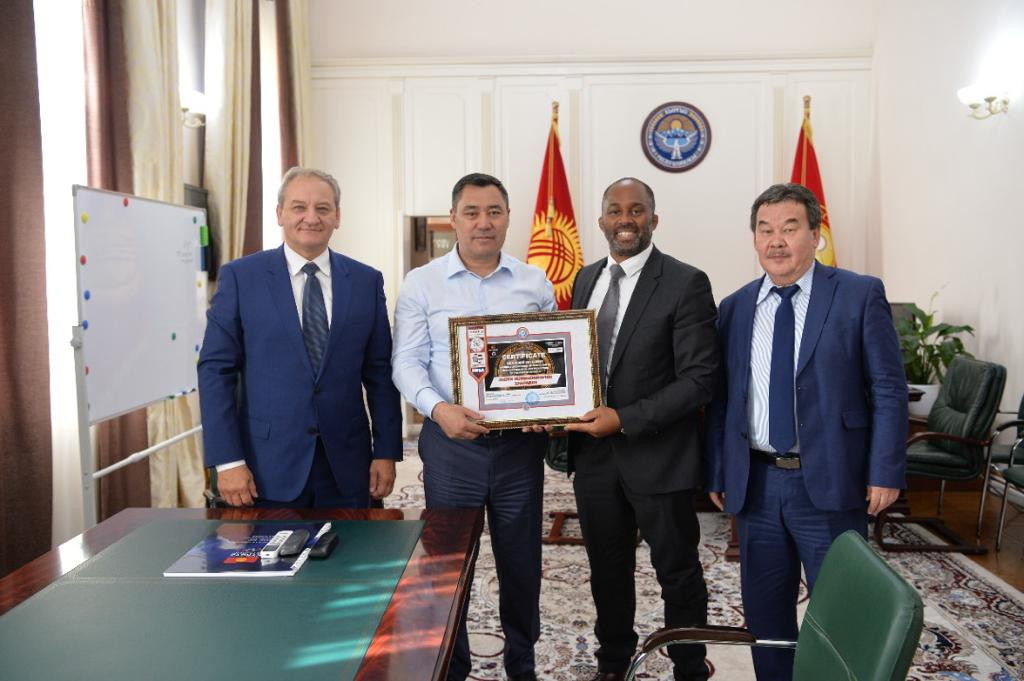 Kyrgyzstan President becomes Honorary President of country's IMMAF affiliate