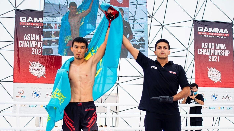 Kazakhstan dominate GAMMA Asian MMA Championships finals