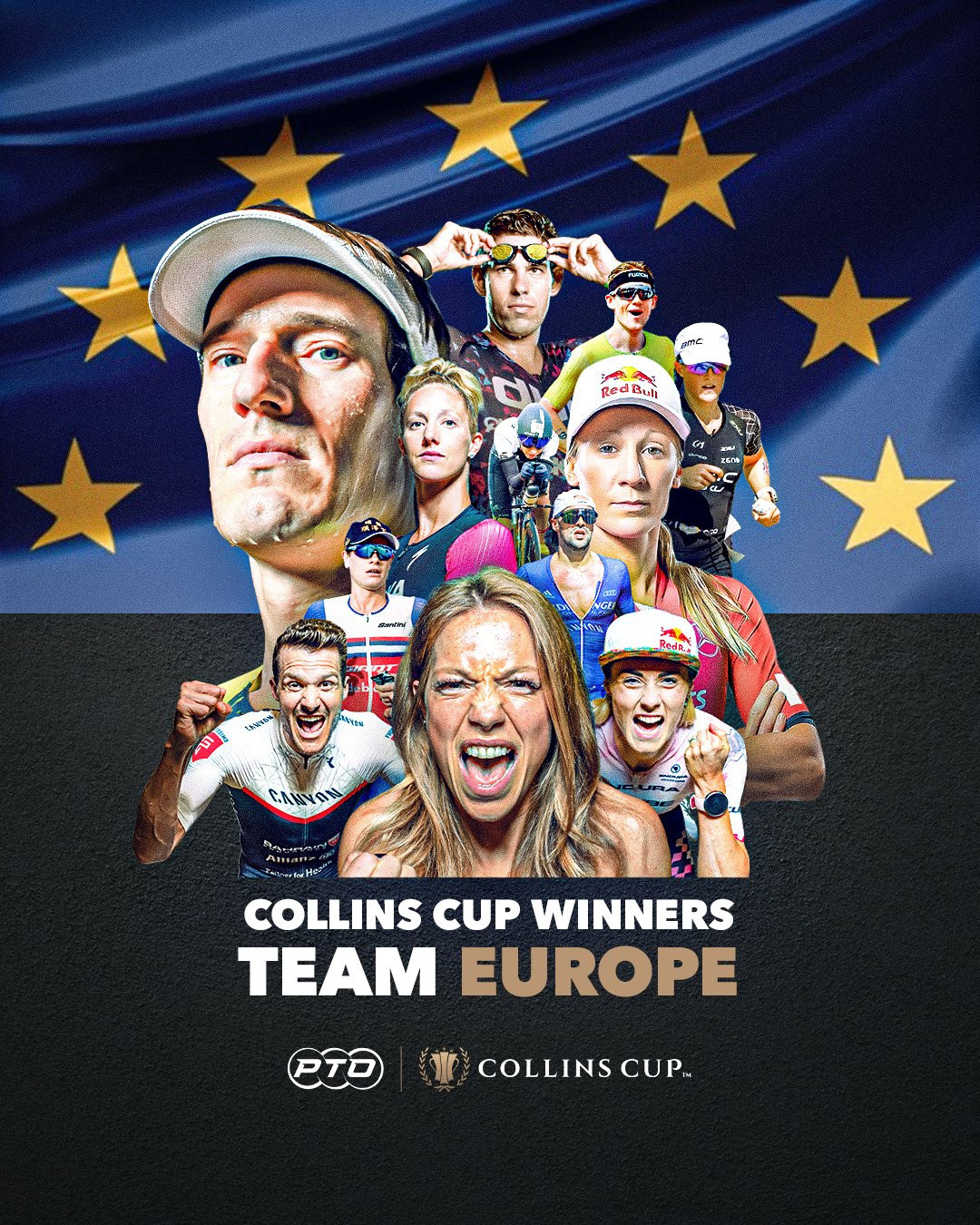 Europe win inaugural Collins Cup triathlon contest