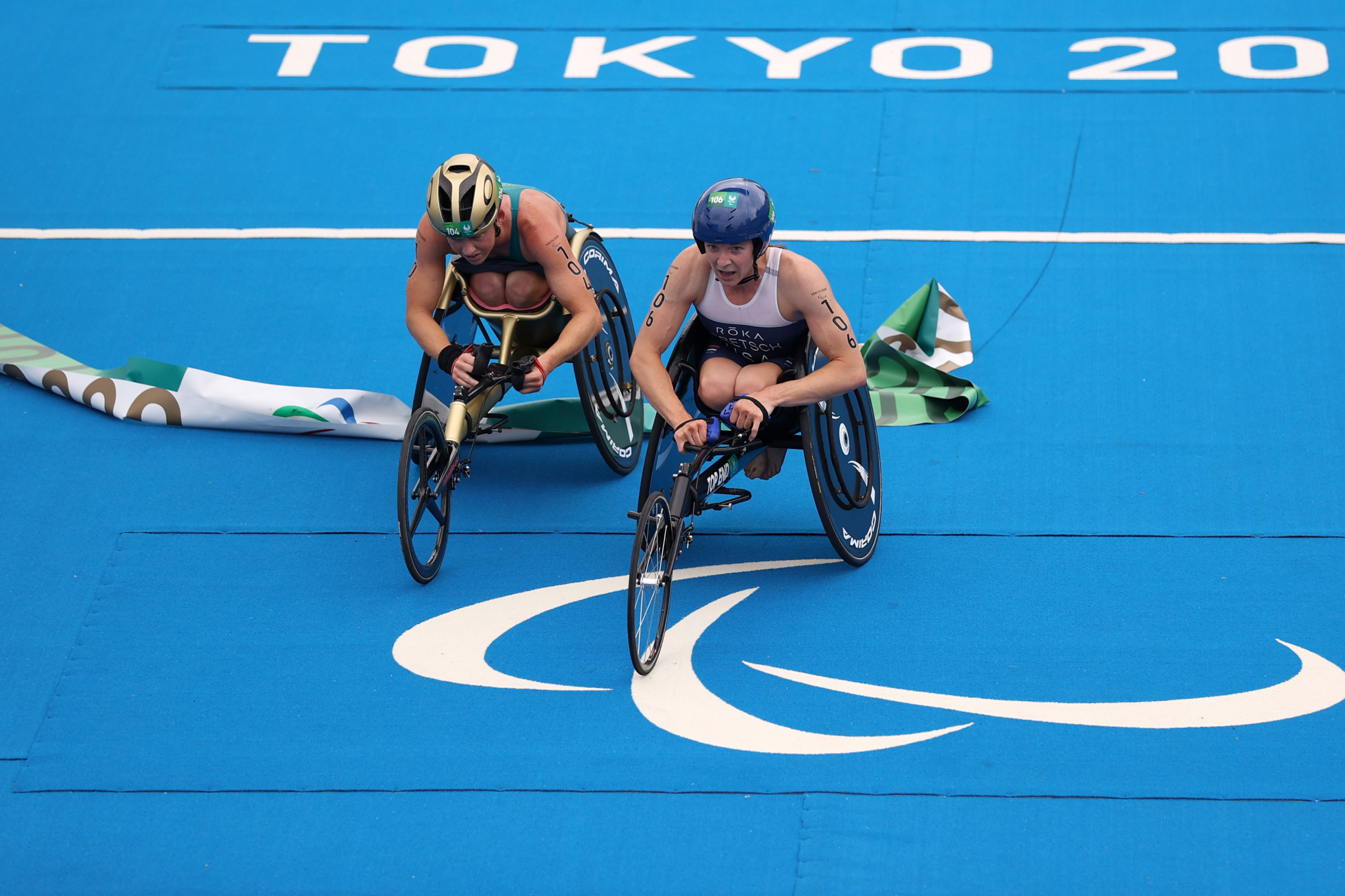 Gretsch adds Tokyo 2020 Paralympic triathlon gold to Pyeongchang 2018 success