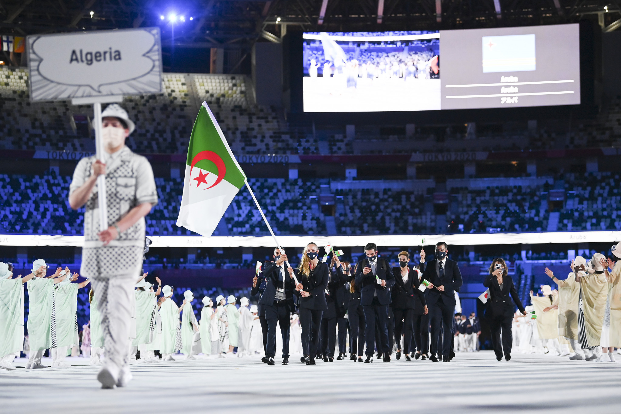 Algeria won no medals at a Summer Olympic Games for the first time since Athens 2004  ©Getty Images