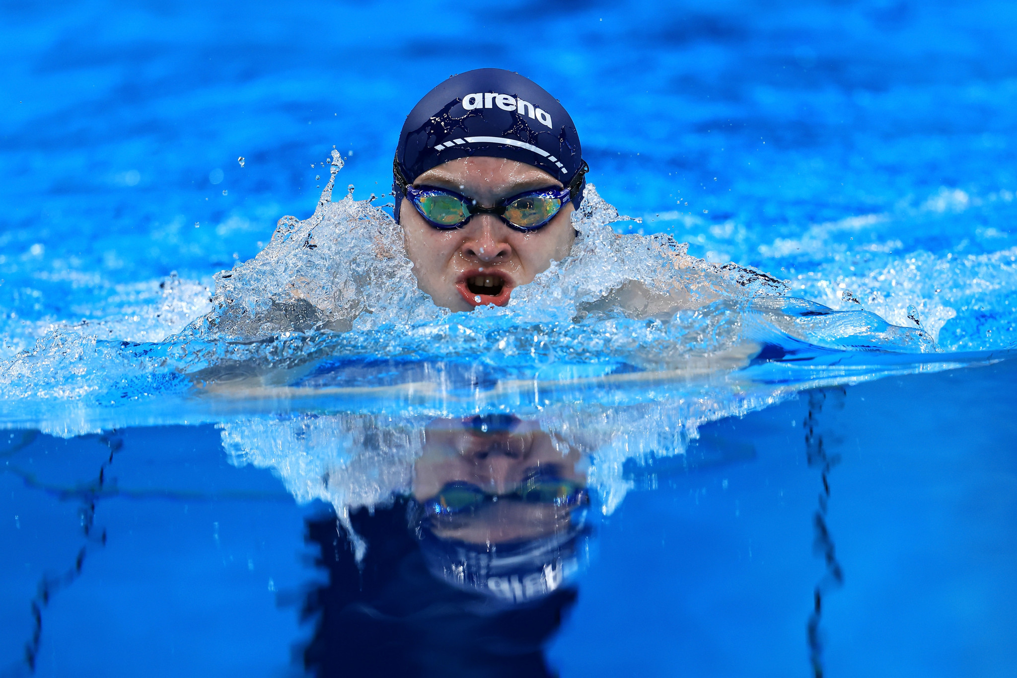 Dmitrii Cherniaev broke the 100m breastsroke SB4 world record by more than a quarter of a second ©Getty Images