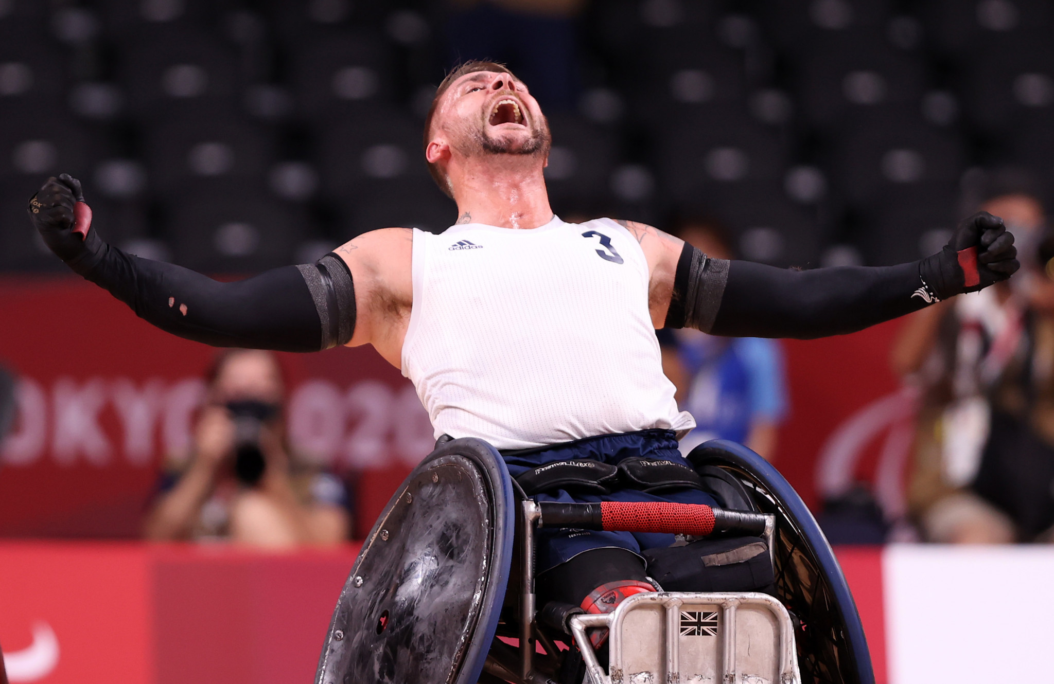 Britain claim first Paralympic wheelchair rugby gold in tense final against US