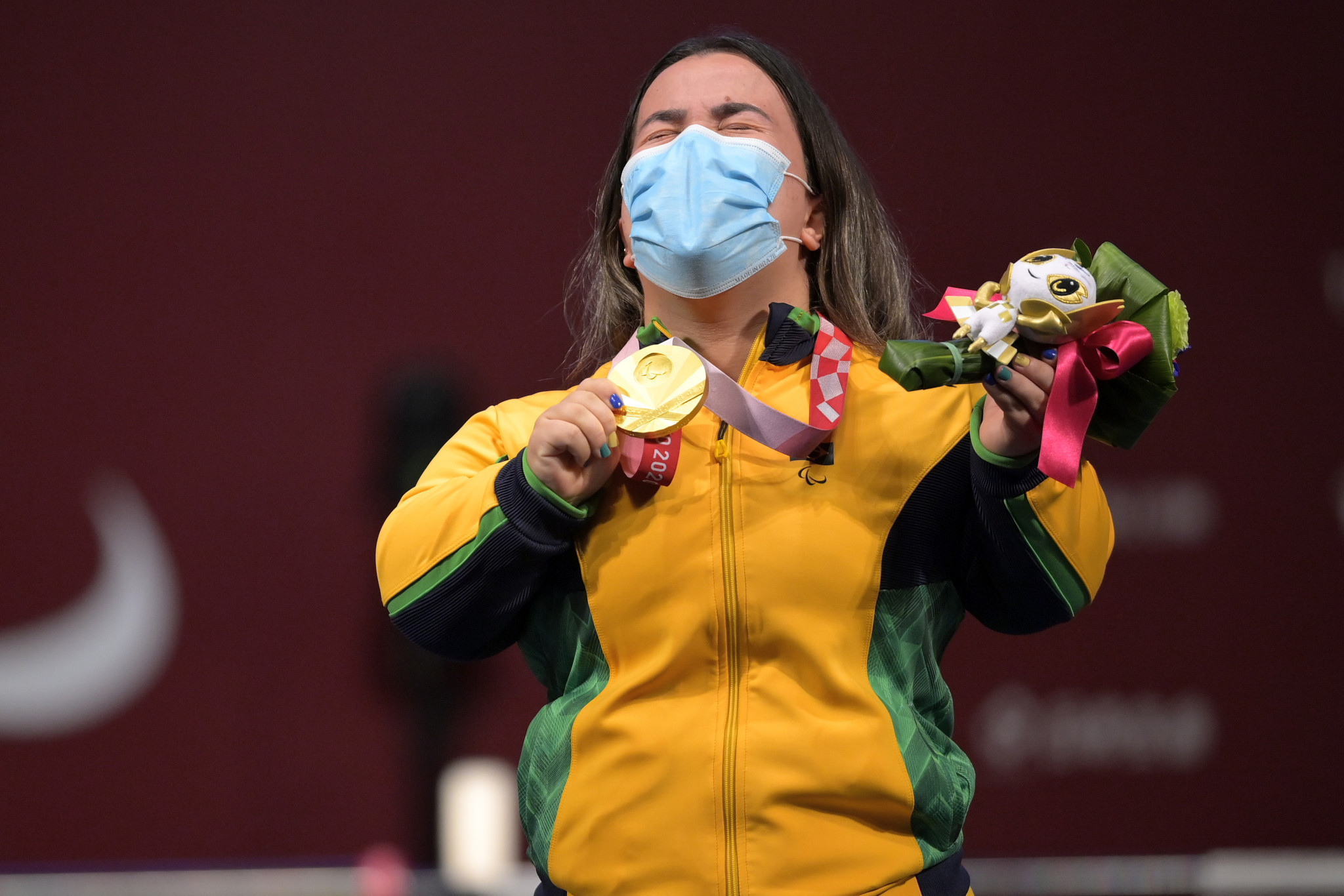 D'andrea wins Brazil's first powerlifting gold at Tokyo 2020 Paralympics