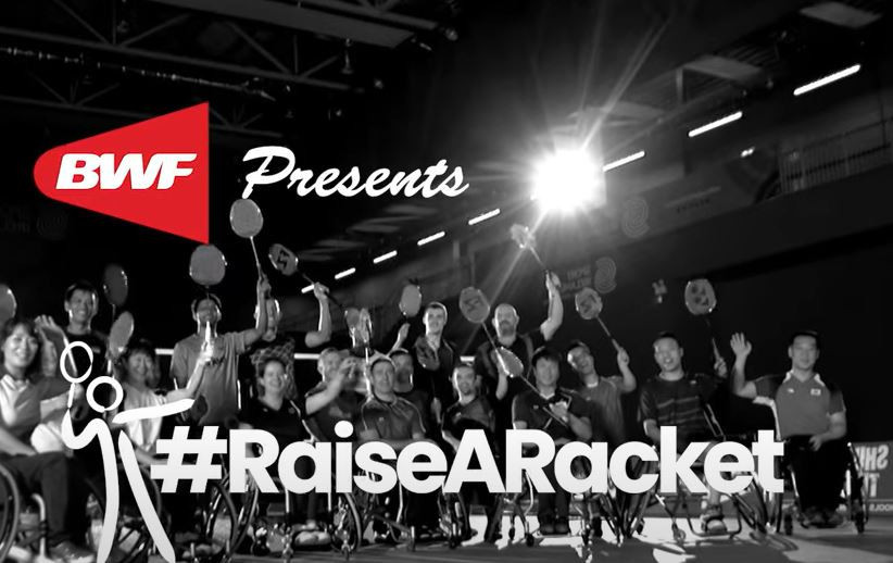 BWF launches #RaiseARacket campaign to garner support for Paralympic debut