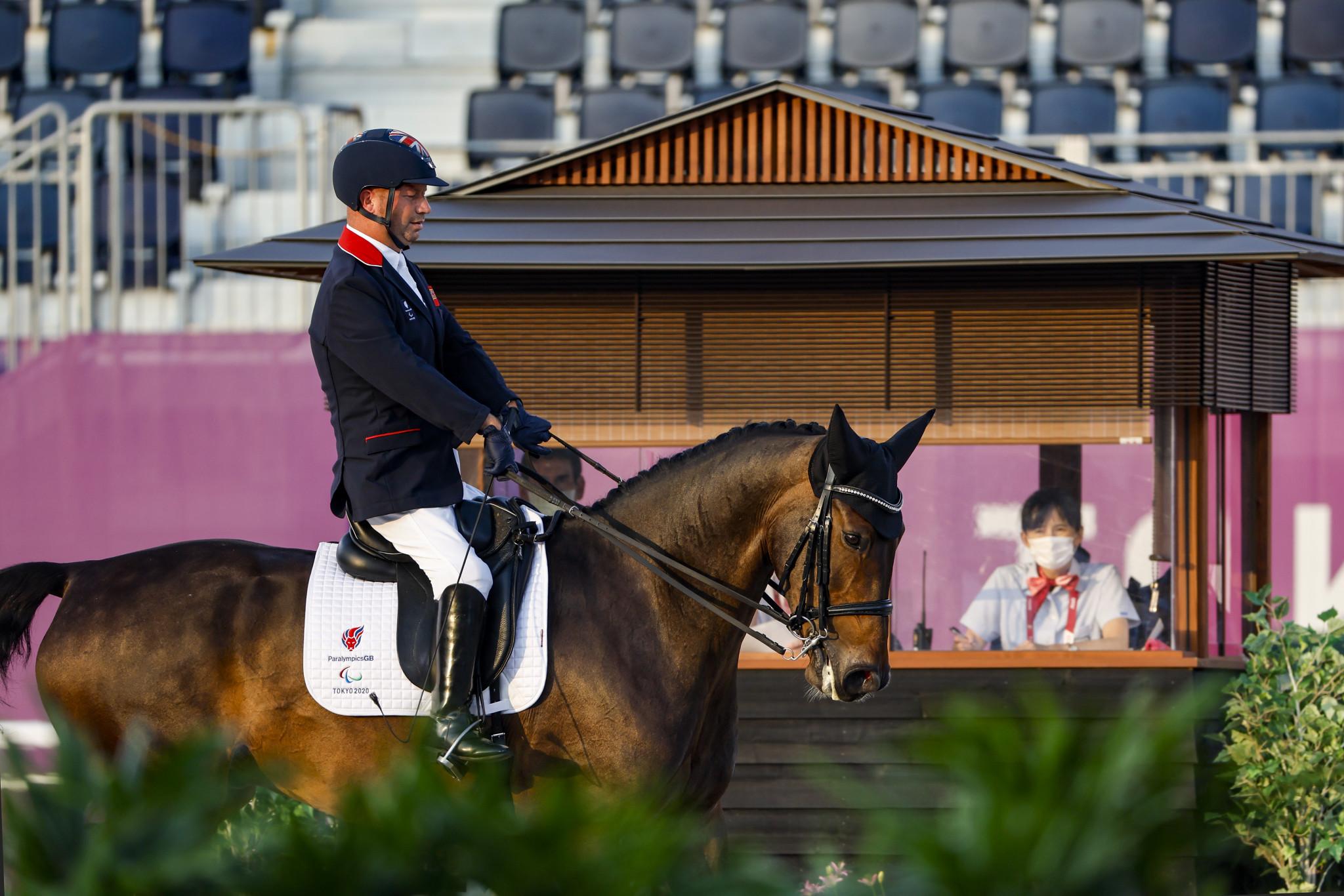 Britain win seventh successive team dressage title at Tokyo 2020 Paralympics