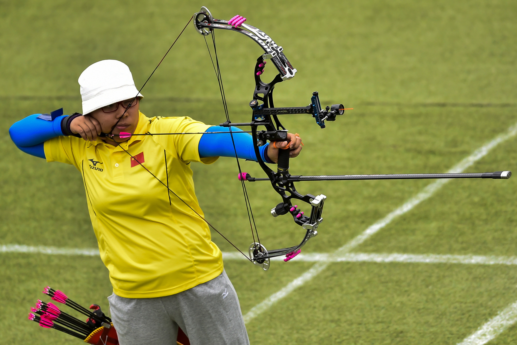 China win second Tokyo 2020 Paralympics archery gold in mixed team compound