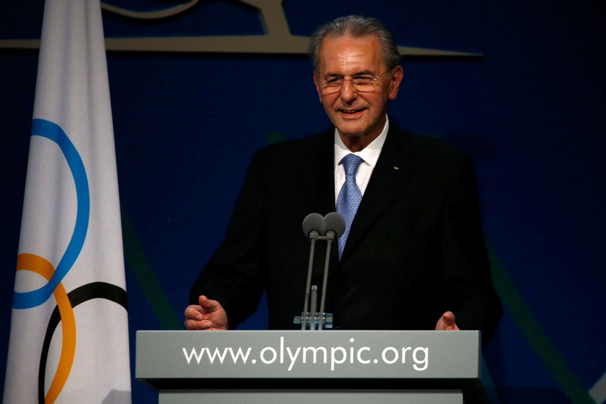 Former International Olympic Committee President Rogge dies aged 79