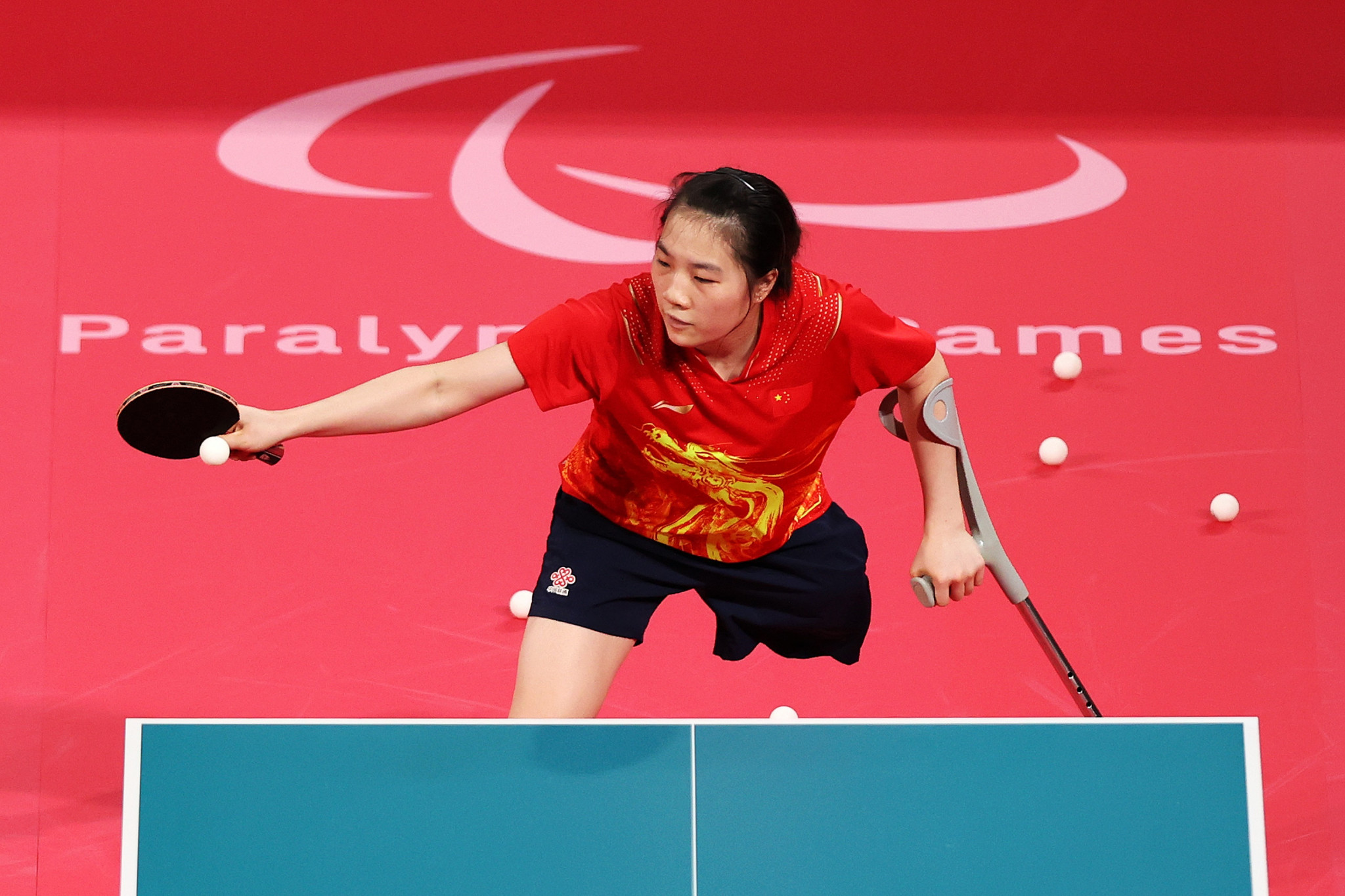 Zhang wins thriller as China claim five out of eight table tennis golds at Paralympics