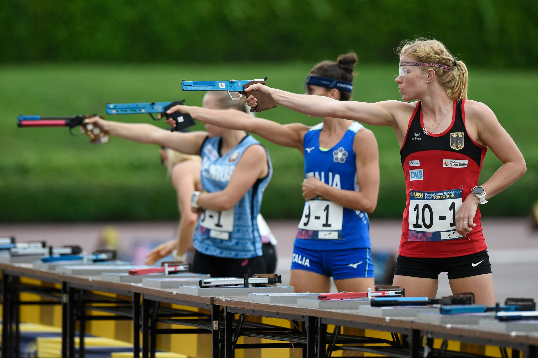 Ten nations take home gold medals in UIPM 2021 Biathle-Triathle World Championships
