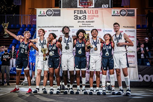 United States dominate again at FIBA 3x3 U18 World Cup and retain both titles