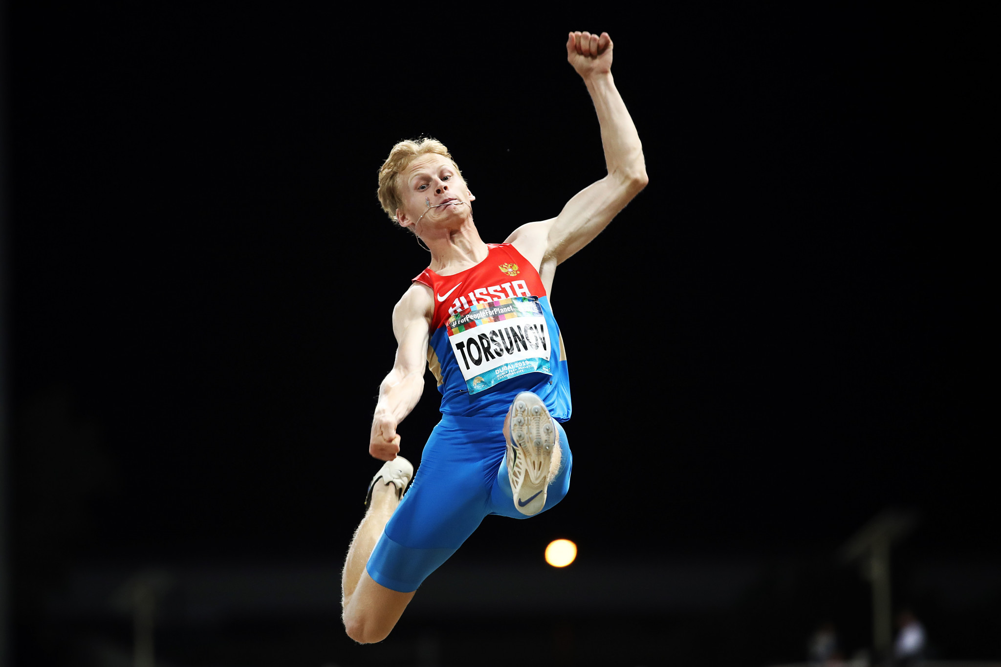 Torsunov jumped a Paralympic record of 5.76 metres to claim gold ©Getty Images