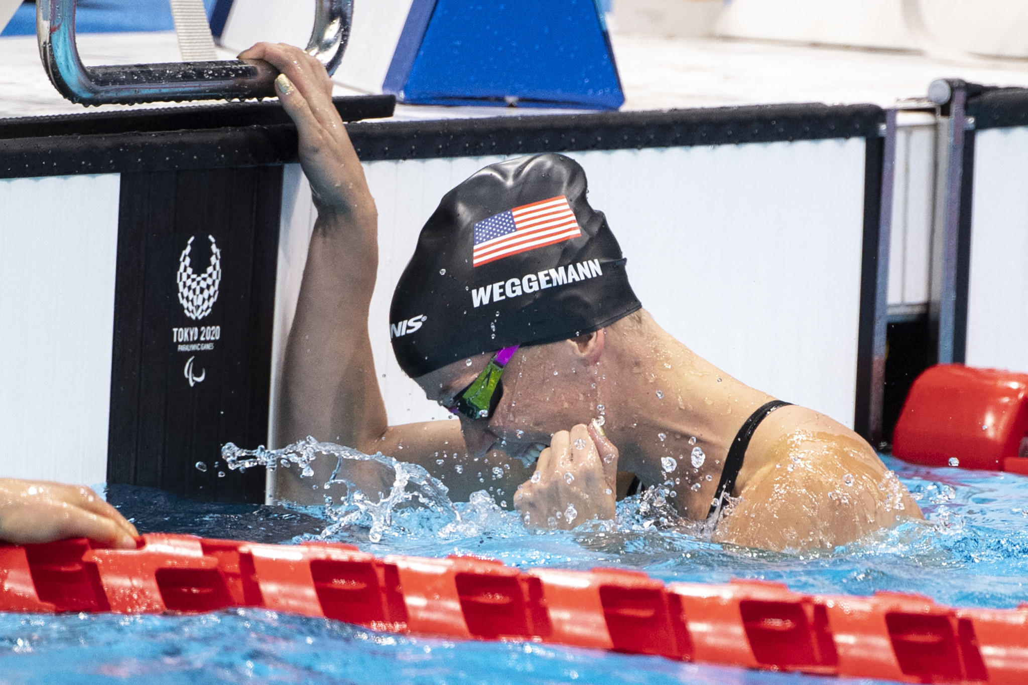 Mallory Weggemann won her second gold medal at the Tokyo 2020 Paralympic Games ©Getty Images