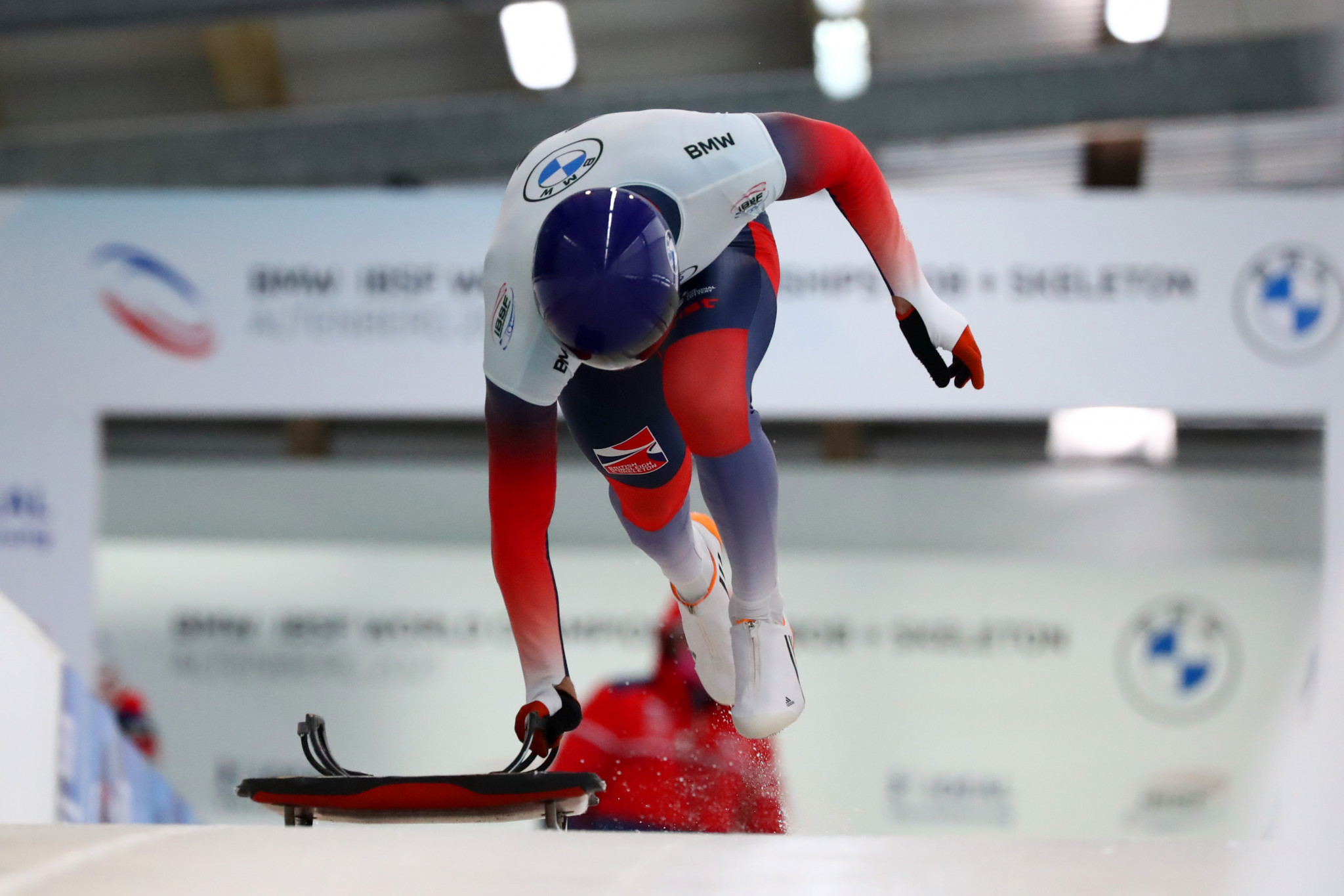 Potential British Olympians begin training to emulate skeleton success at Milan Cortina 2026