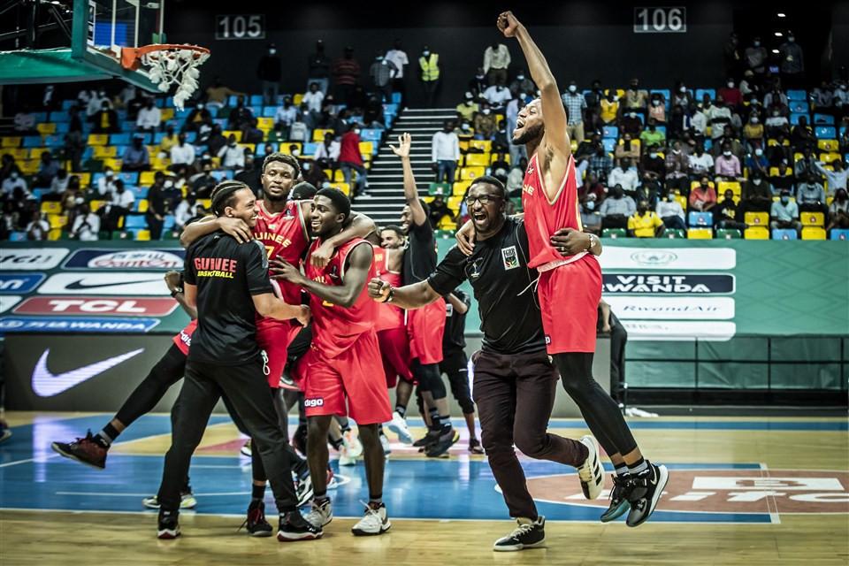 Angola and Guinea secure quarter-final places at FIBA AfroBasket after narrow wins