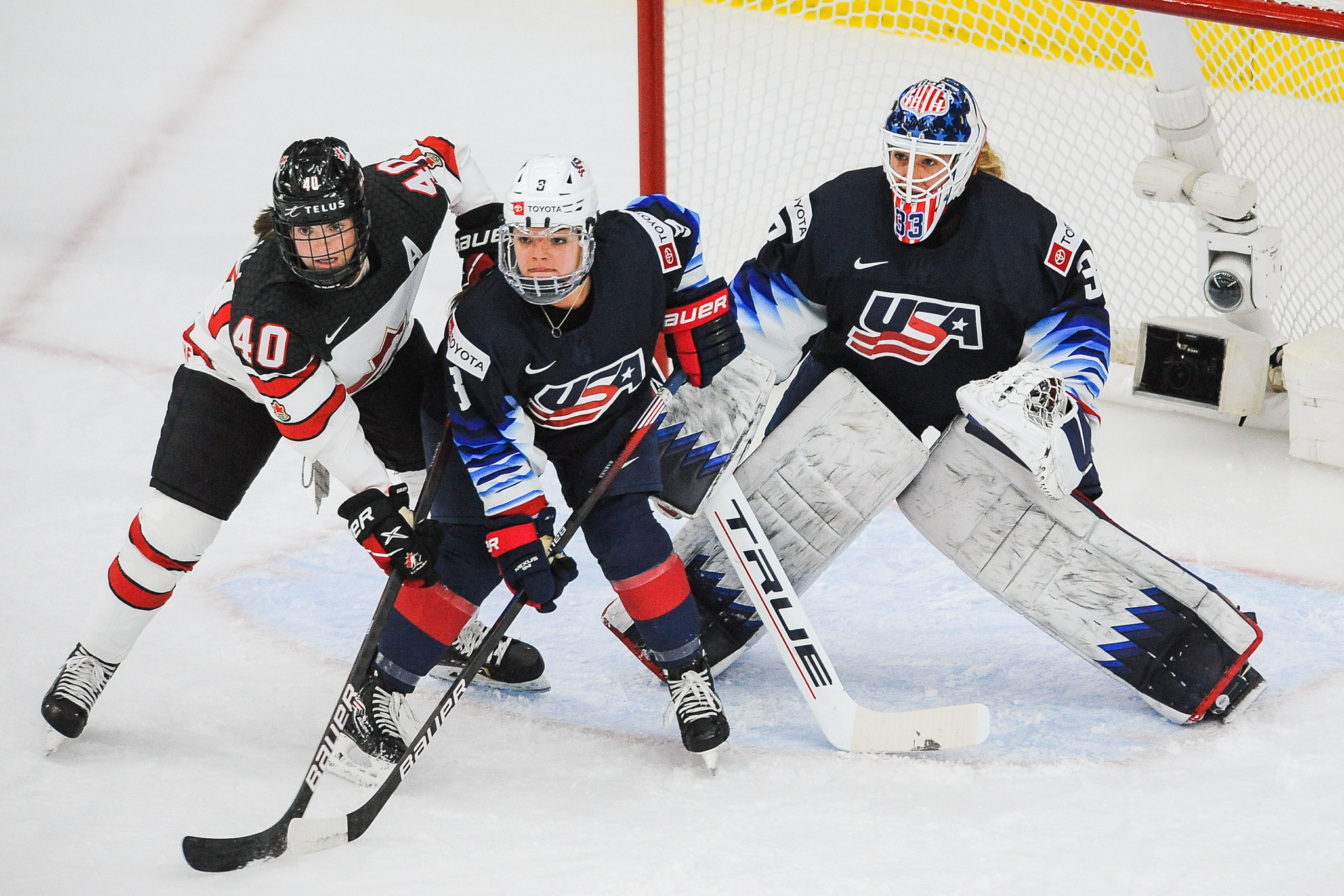 Hosts Canada set up another IIHF Women's World Championship final against United States