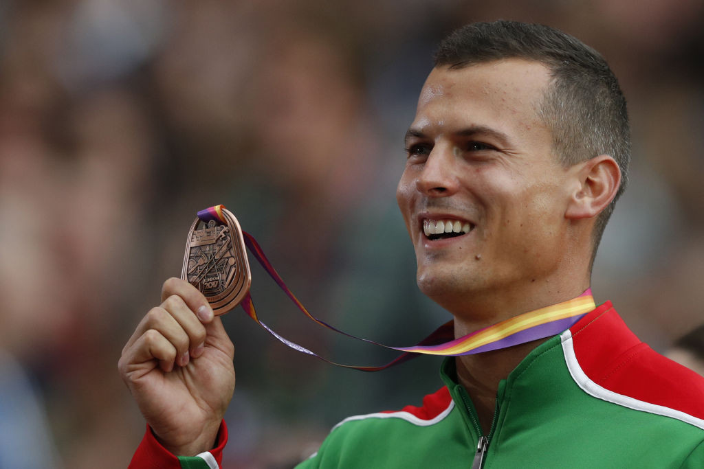 Balázs Baji, Hungary's 2017 World Championships 110m hurdles bronze medallist, has called for sport to be separate from politics and has said the