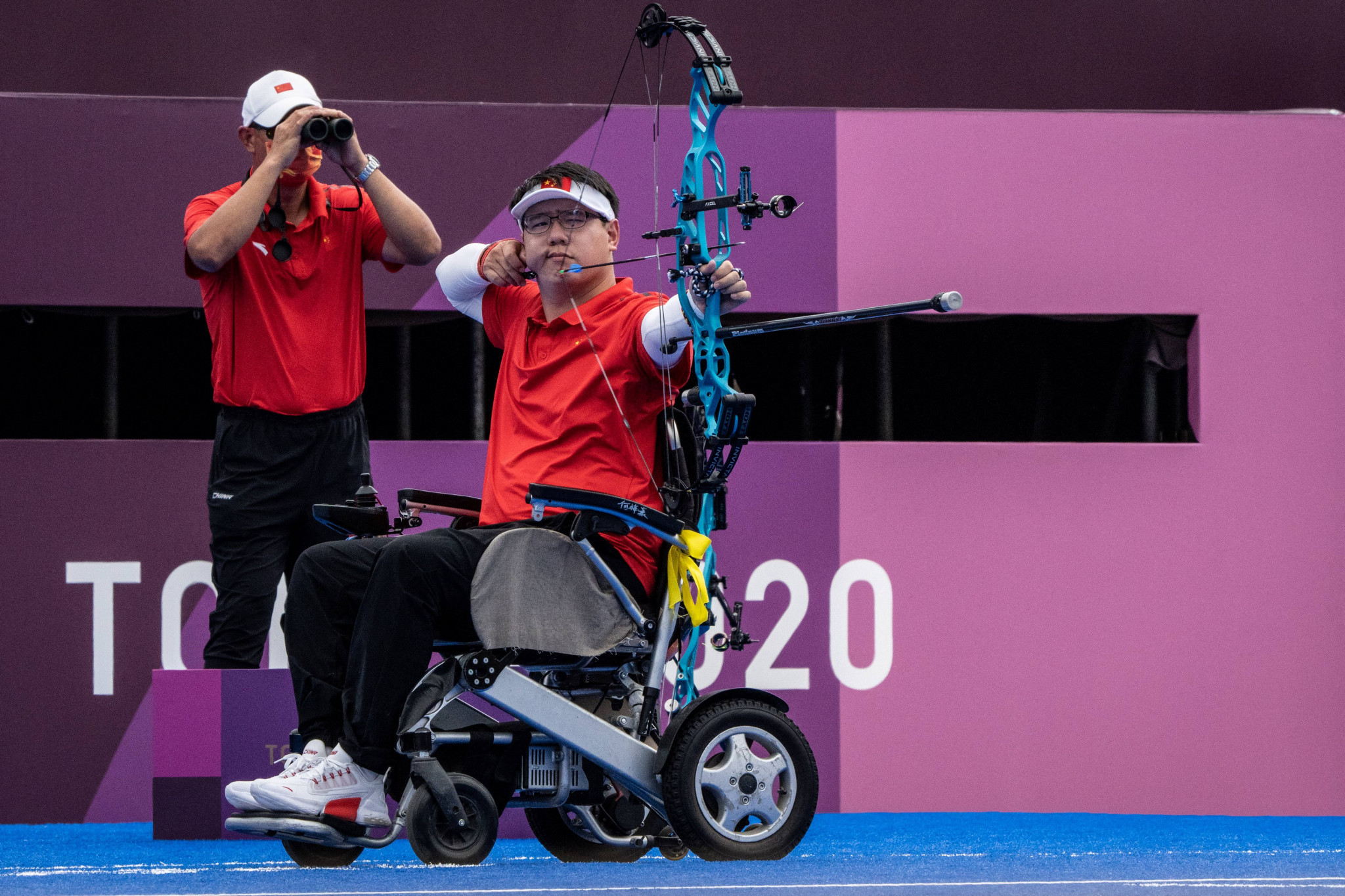 He Zihao wins second archery gold at Tokyo 2020 Paralympics with compound triumph